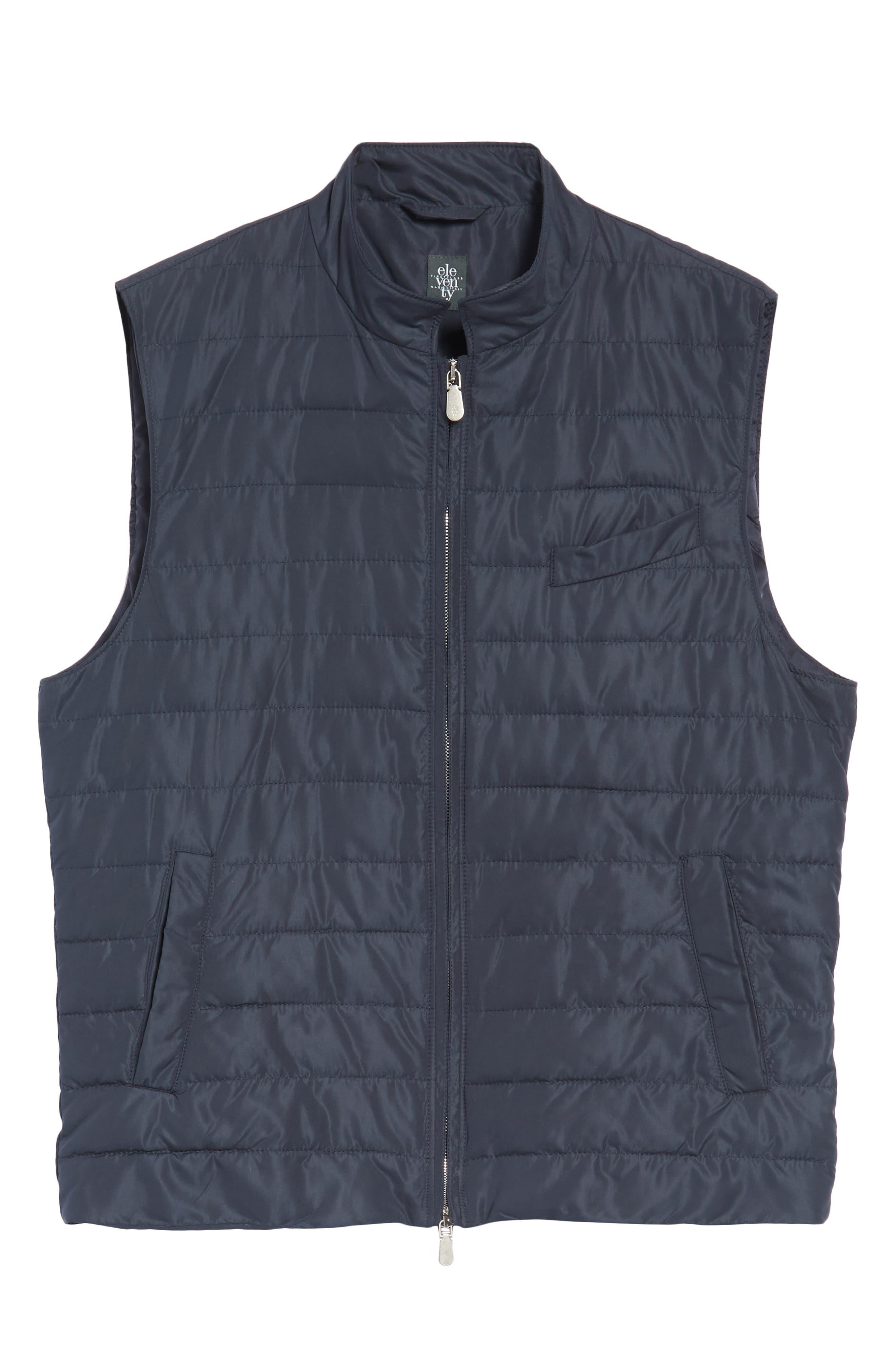 Full Zip Vest,                             Alternate thumbnail 5, color,                             NAVY