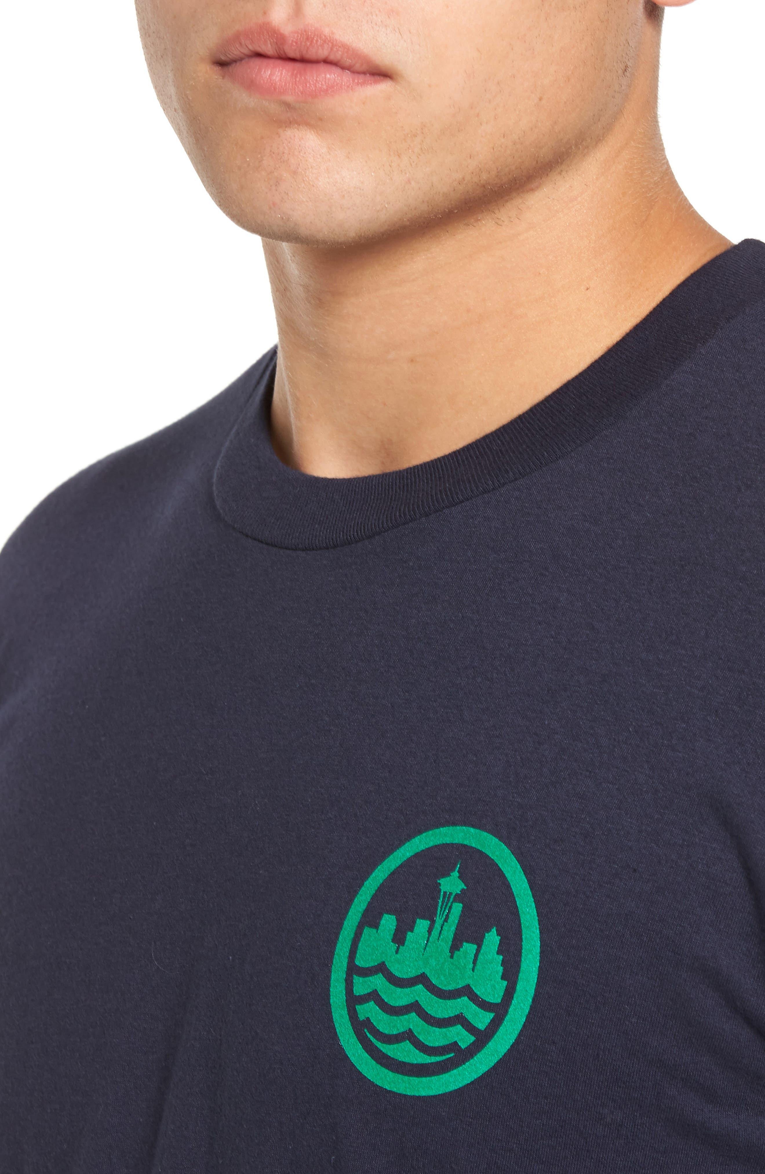 Sea Graphic T-Shirt,                             Alternate thumbnail 8, color,