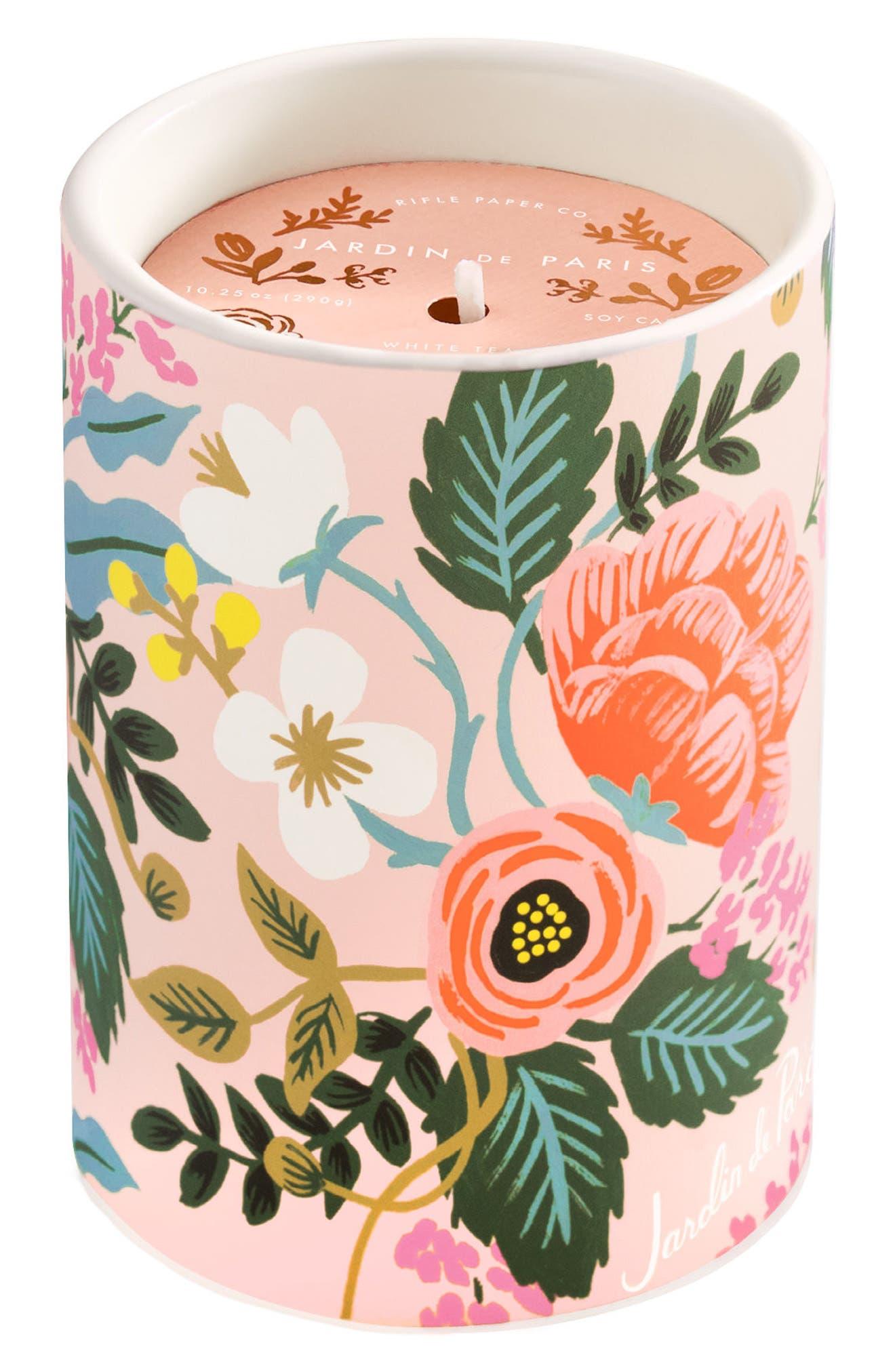 Scented Ceramic Jar Candle,                             Main thumbnail 5, color,