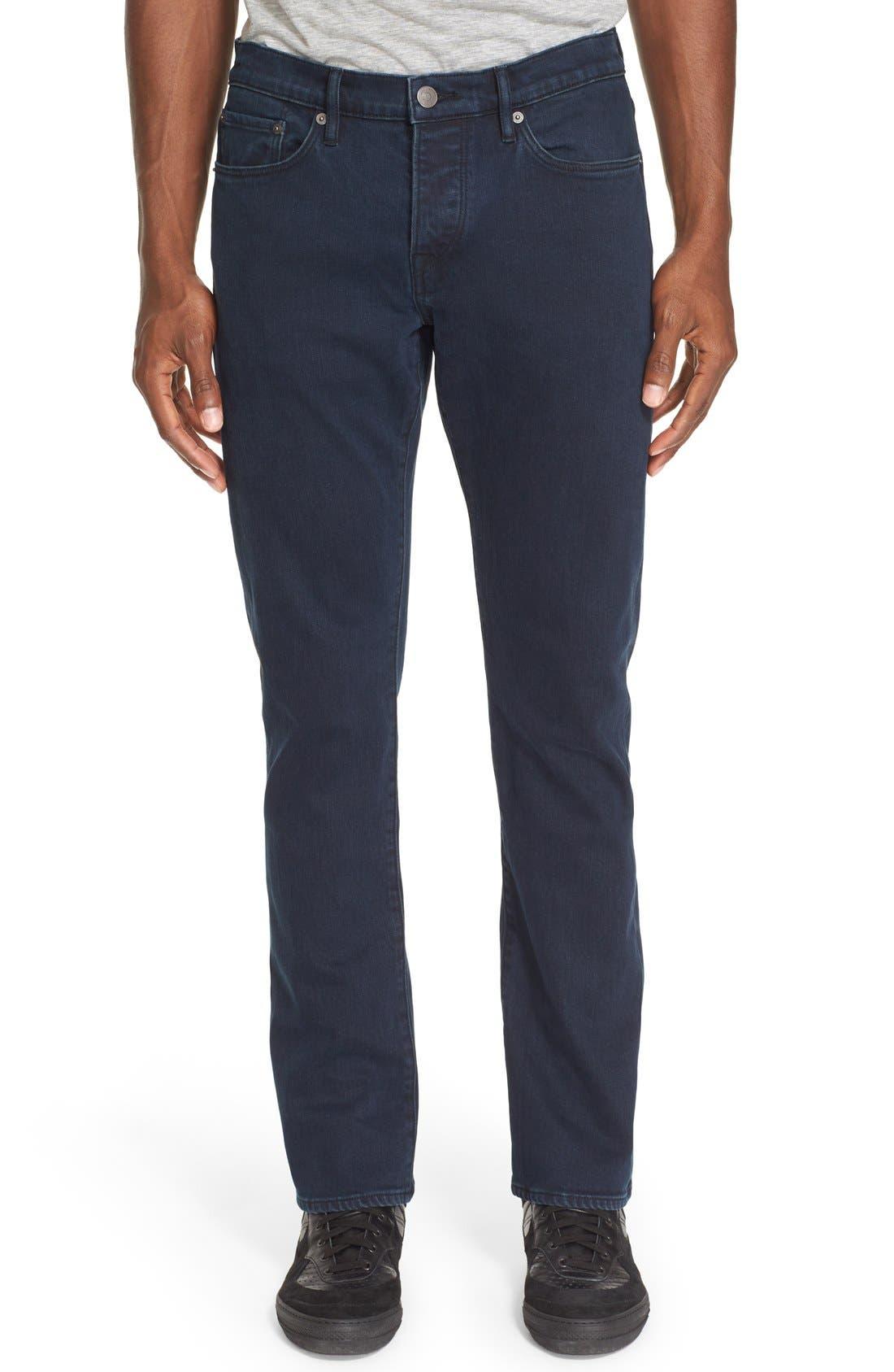 Straight Leg Jeans Jeans,                             Main thumbnail 1, color,                             404