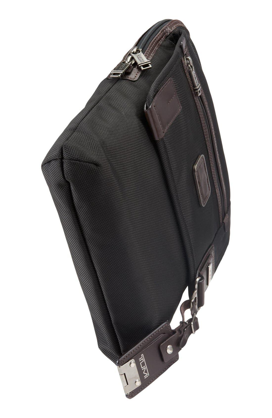 TUMI,                             'Alpha Bravo - Annapolis' Zip Flap Messenger Bag,                             Alternate thumbnail 3, color,                             001