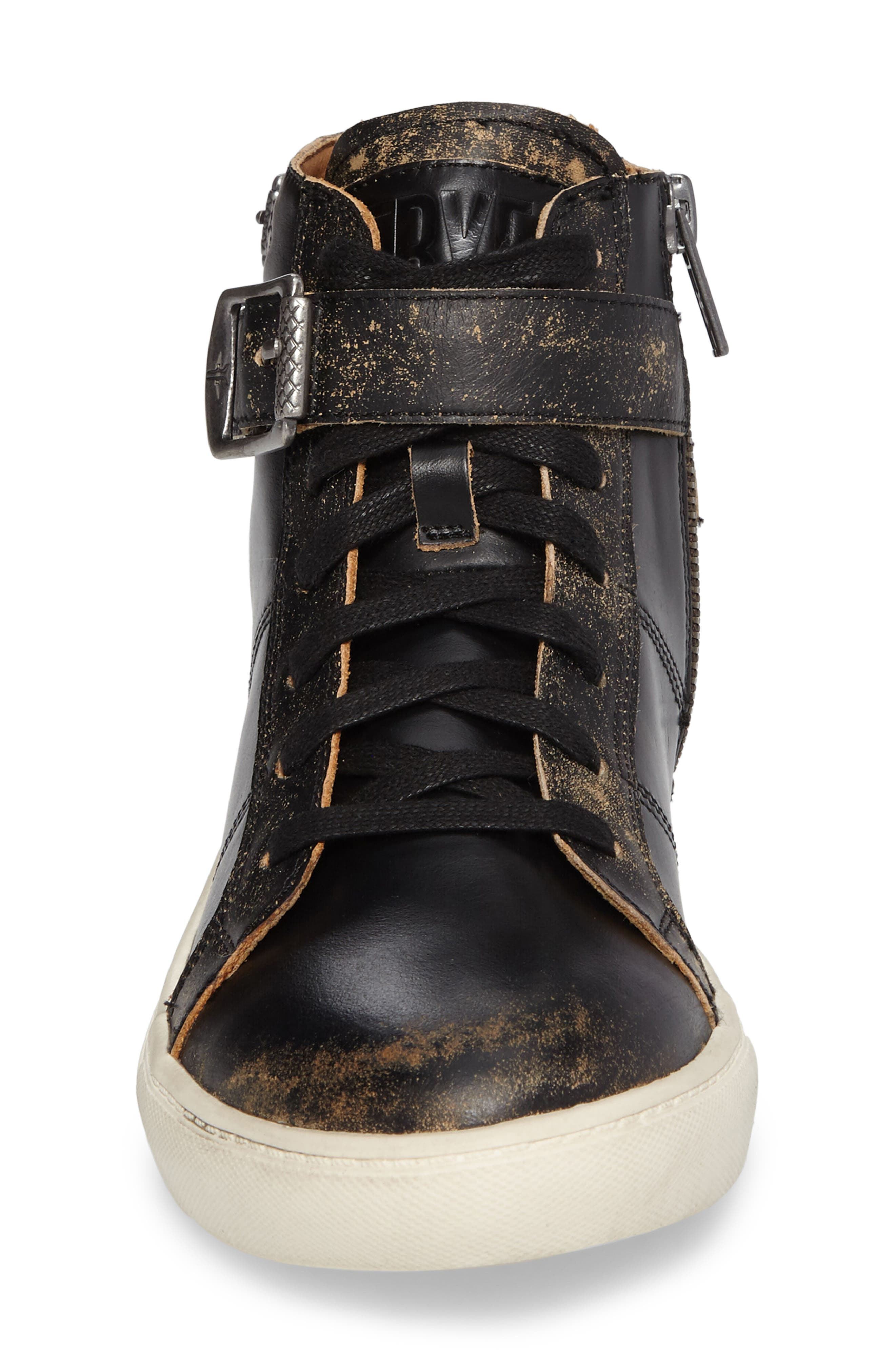 Dylan Buckle Strap High-Top Sneaker,                             Alternate thumbnail 4, color,                             204