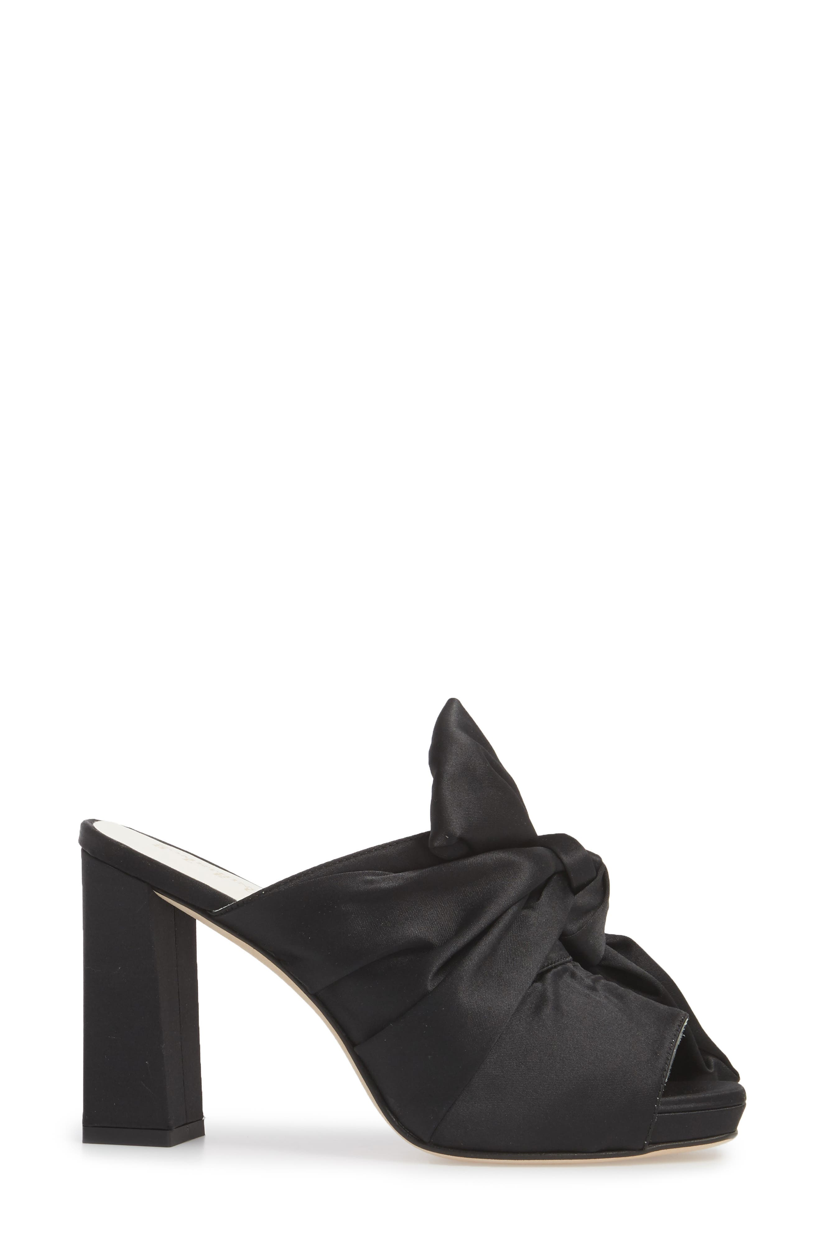 Elisa Knotted Bow Mule,                             Alternate thumbnail 7, color,