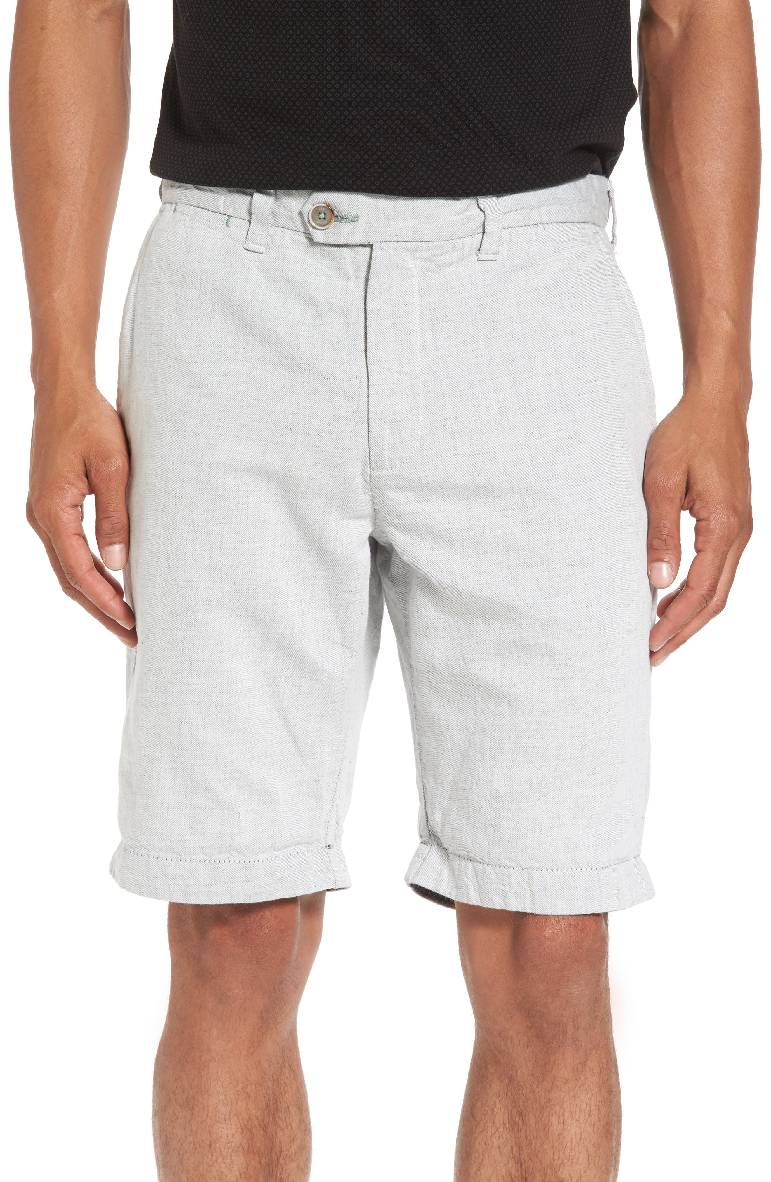 Frisho Cuff Denim Shorts,                         Main,                         color,