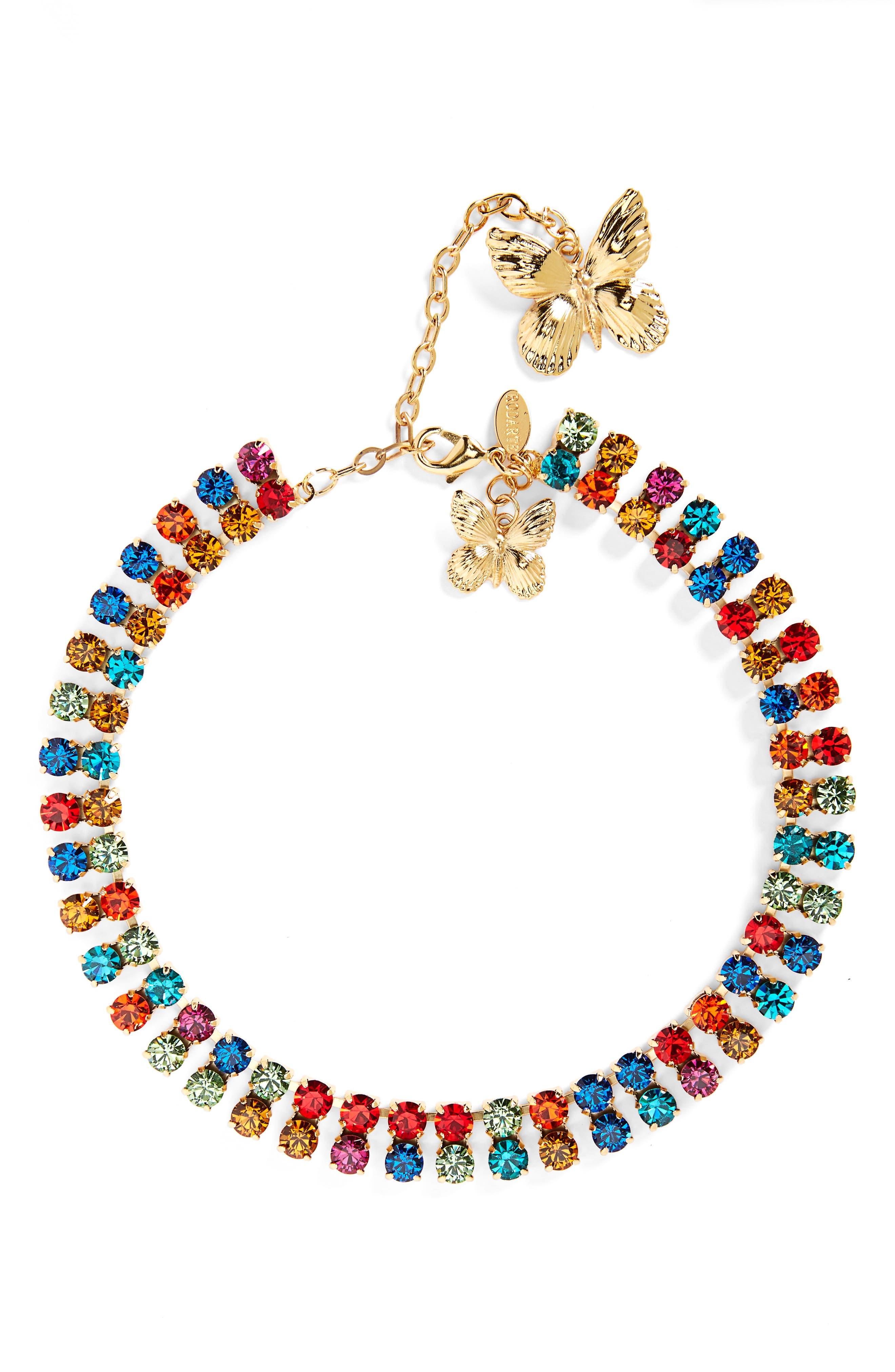 Rainbow Crystal Choker, Main, color, 960