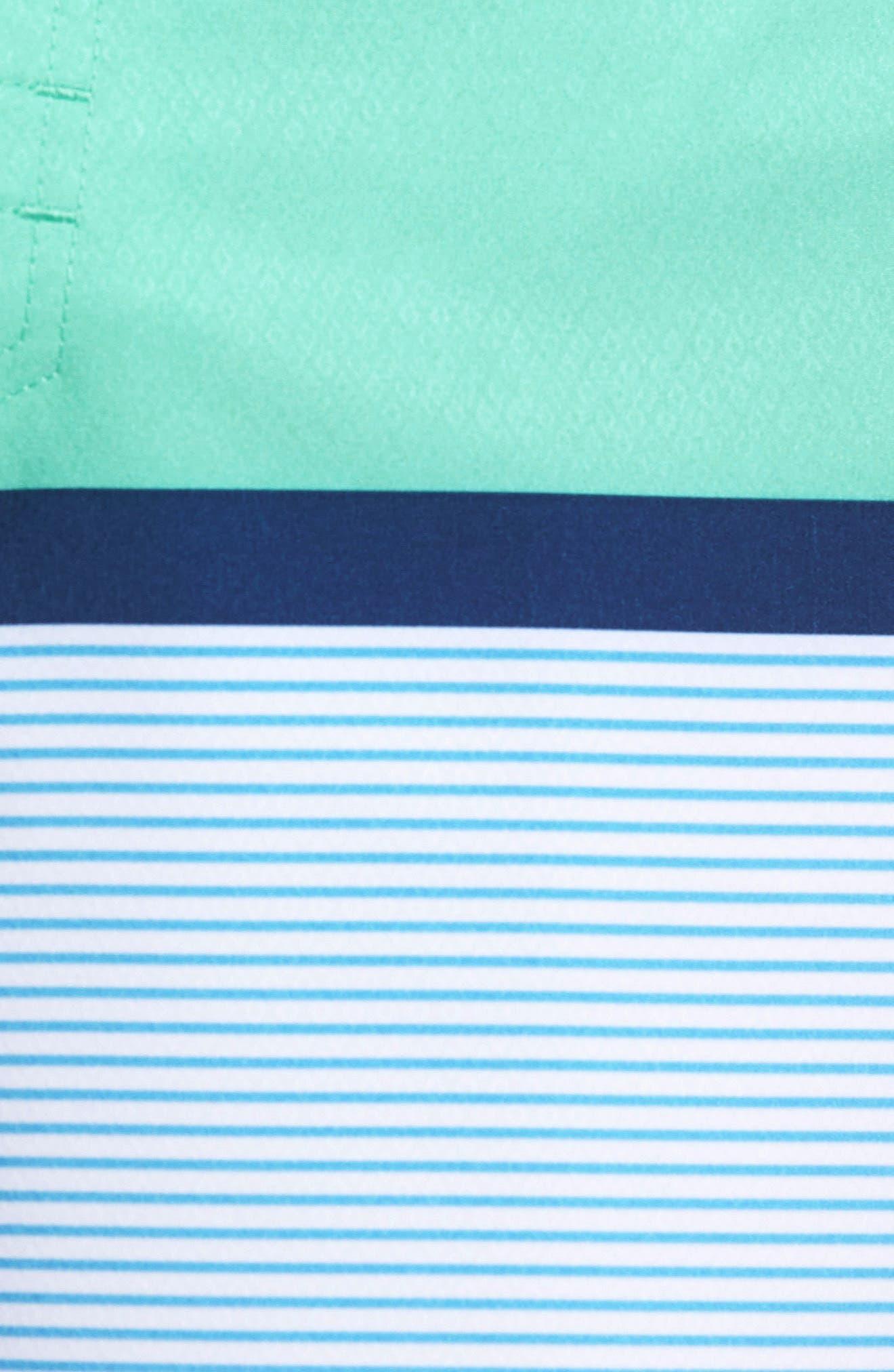 Blue Lagoon Swim Trunks,                             Alternate thumbnail 5, color,                             400