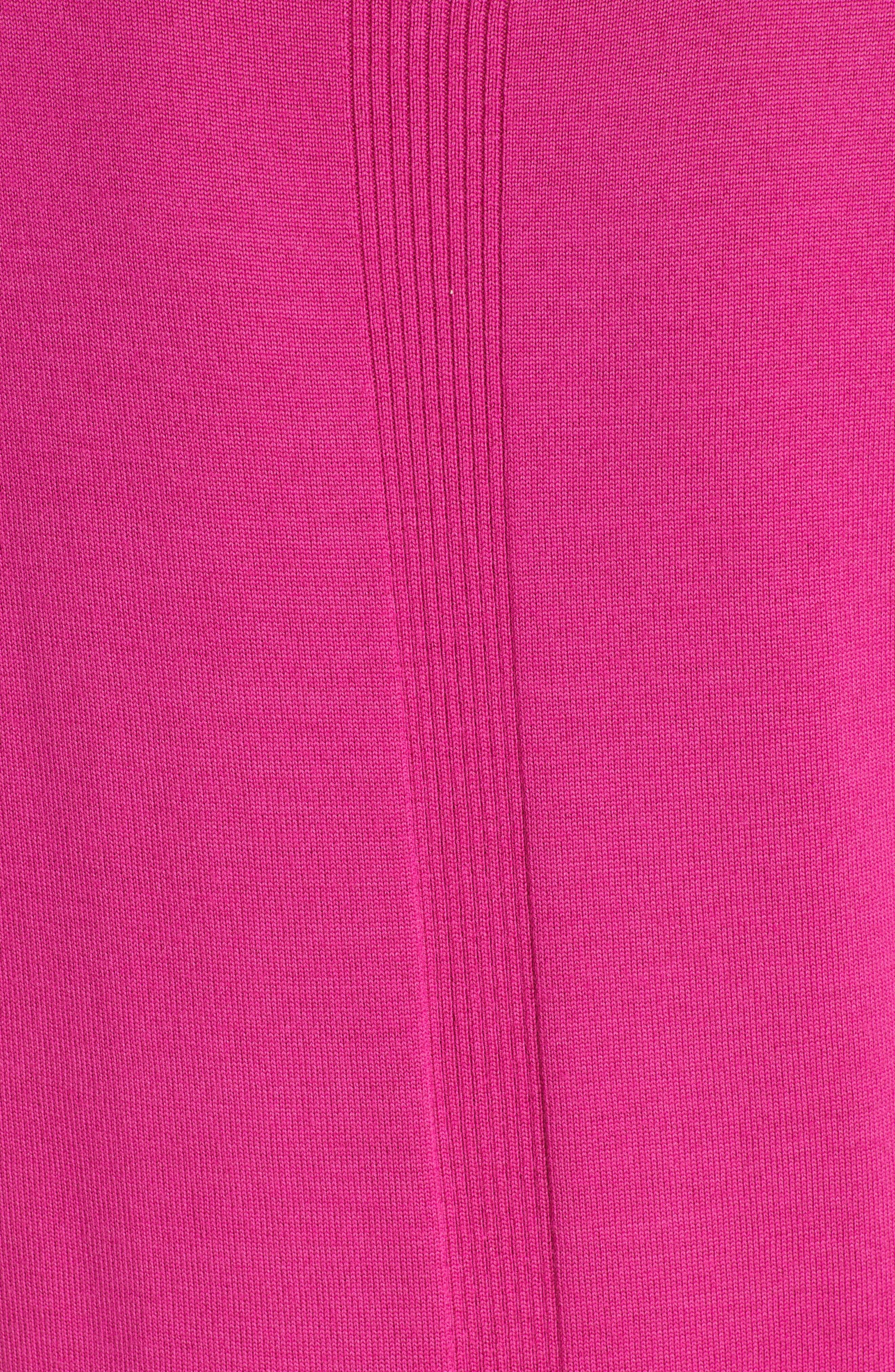 Jersey & Silk Shell,                             Alternate thumbnail 5, color,                             CAMELLIA