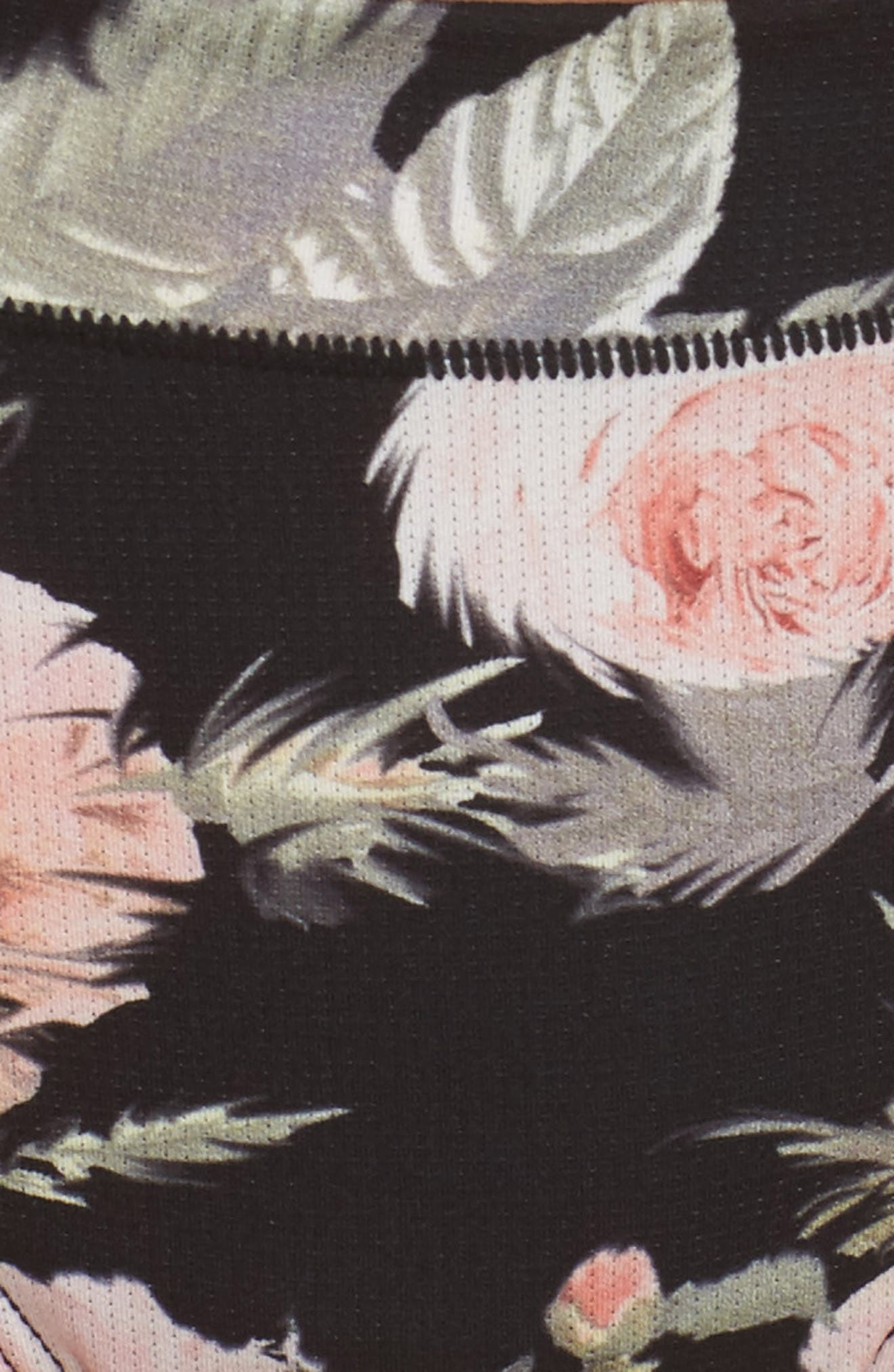 Beau Floral Cheeky Panties,                             Alternate thumbnail 5, color,                             001