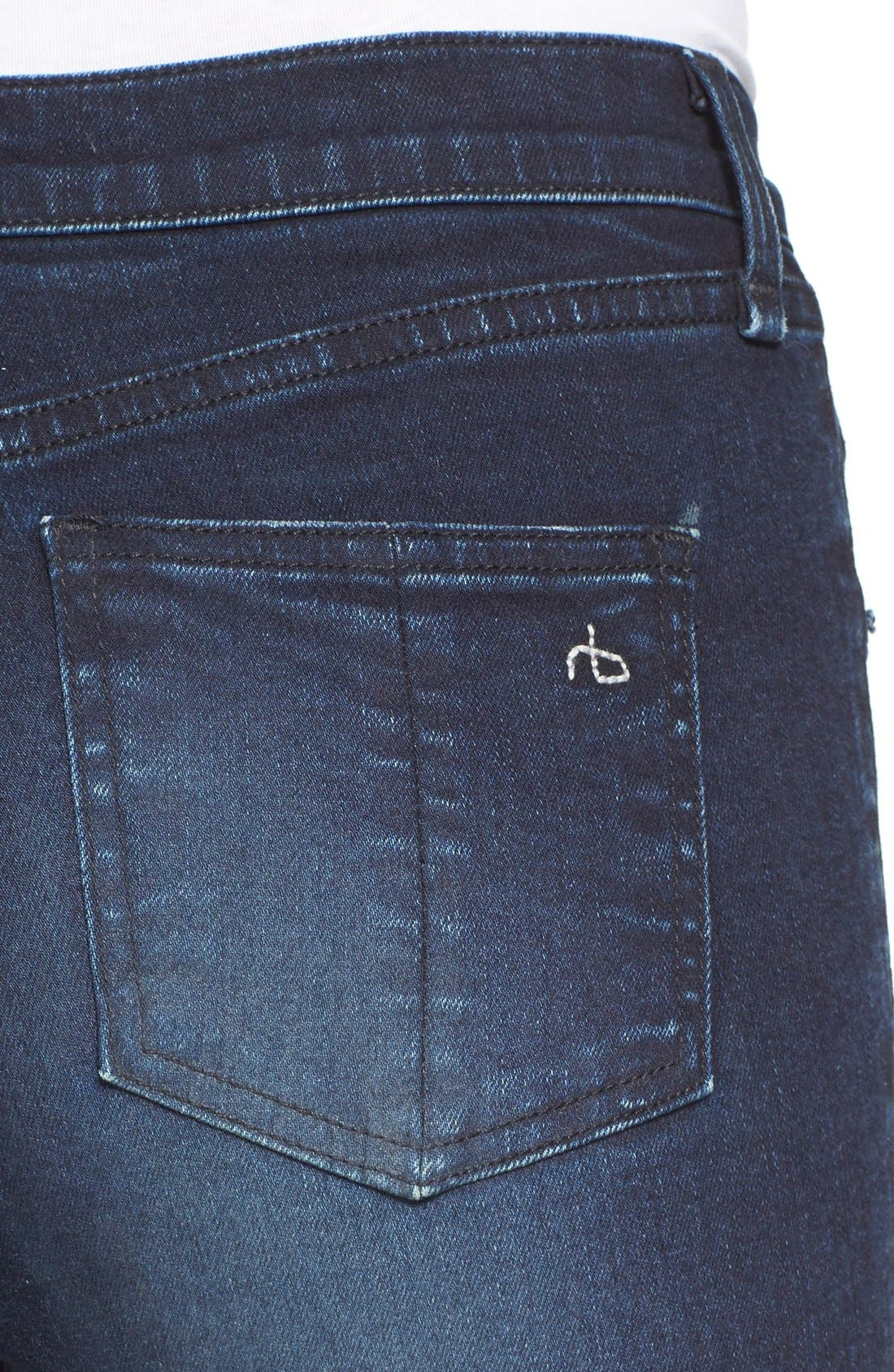 High Rise Skinny Jeans,                             Alternate thumbnail 2, color,                             403