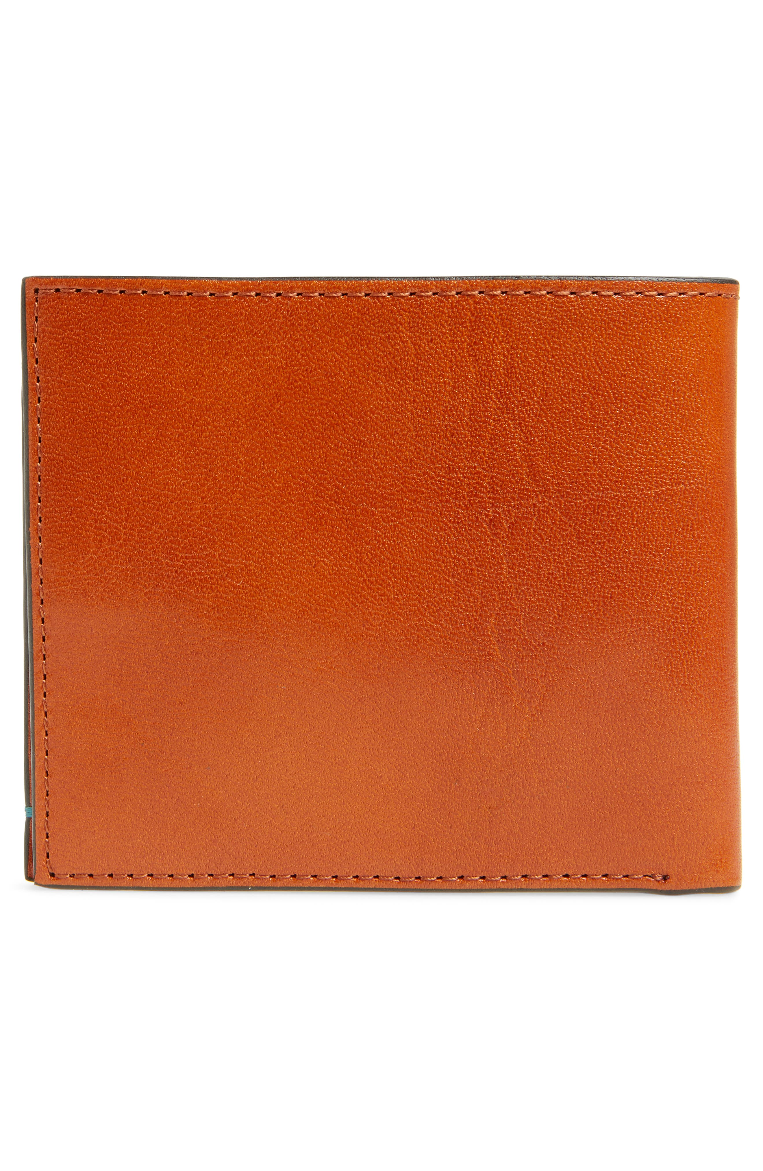 Logans Leather Wallet,                             Alternate thumbnail 3, color,                             TAN