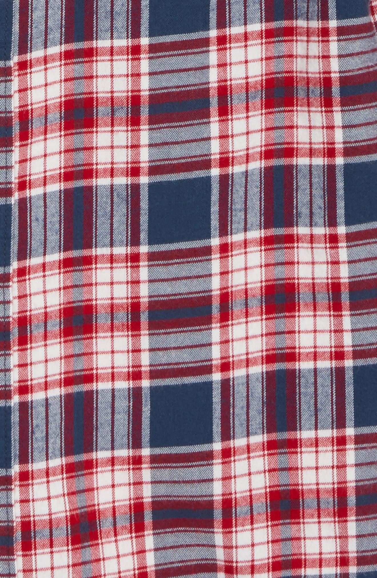 Ultrasoft Flannel Shirt,                             Alternate thumbnail 5, color,