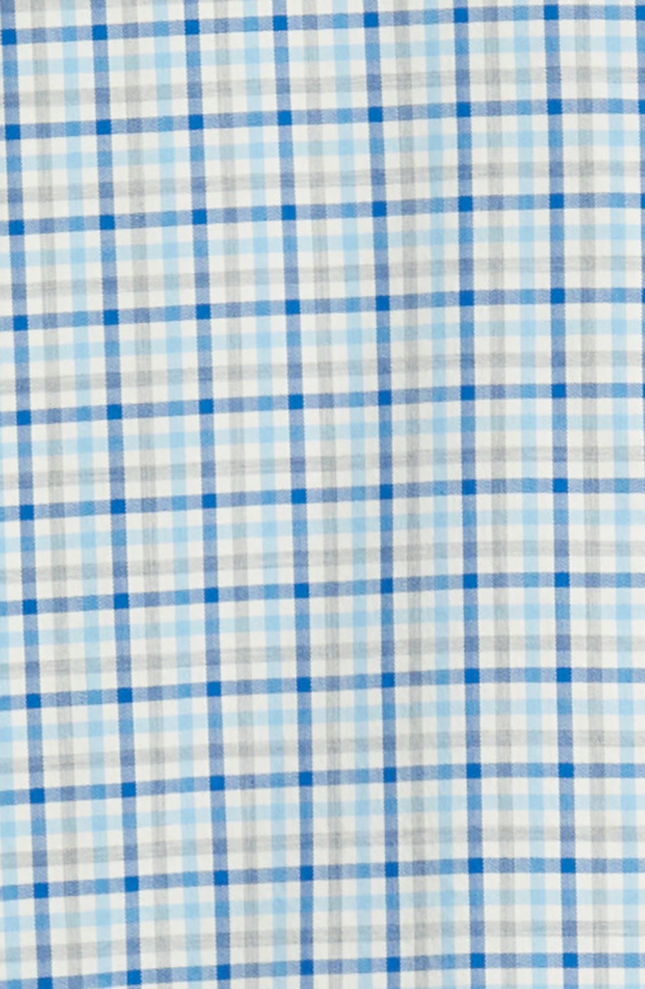 Pondview Regular Fit Check Sport Shirt,                             Alternate thumbnail 6, color,                             484