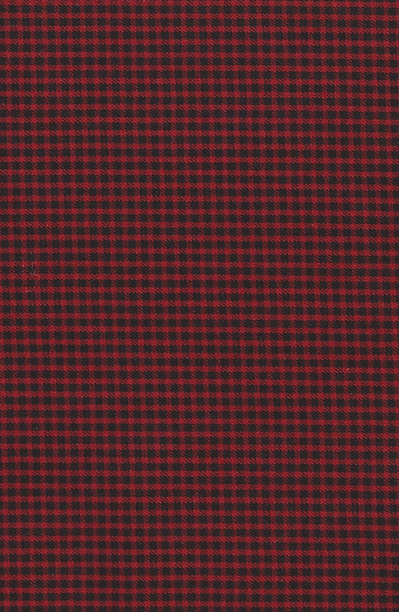 Micro Check Pocket Square,                             Alternate thumbnail 3, color,                             606