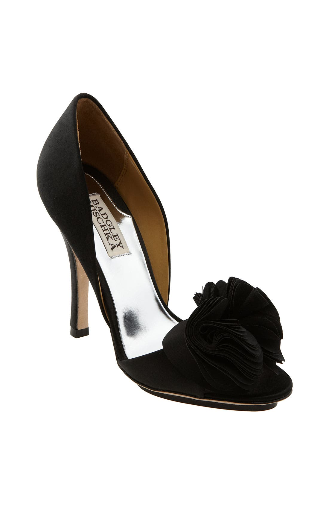 BADGLEY MISCHKA COLLECTION,                             Badgley Mischka 'Randall' Pump,                             Main thumbnail 1, color,                             015