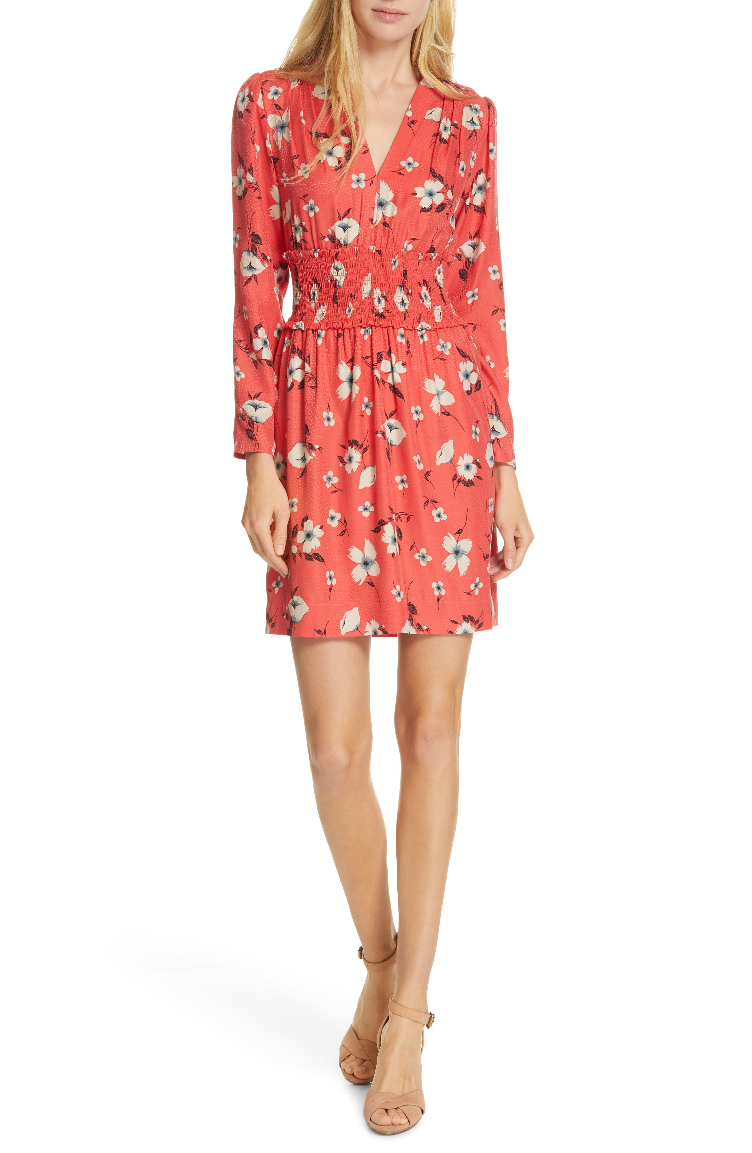Rebecca Taylor Daniella Minidress, Red