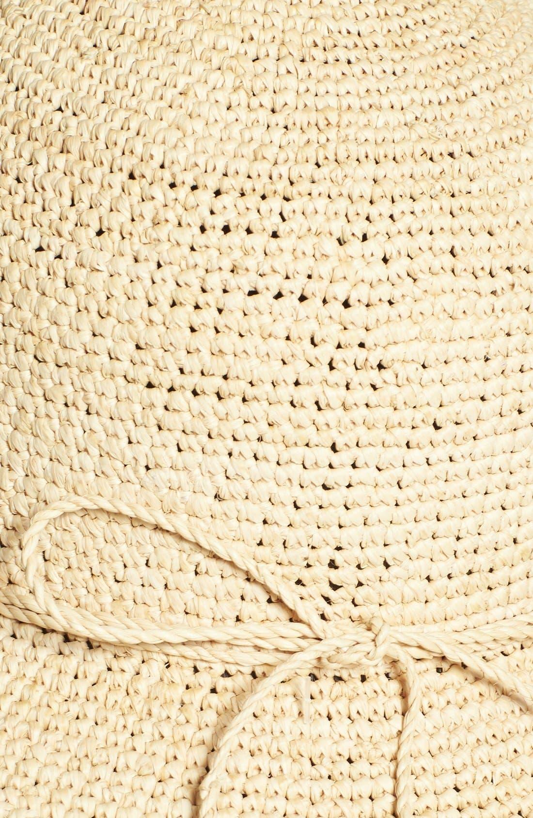 'Caicos' Raffia Hat,                             Alternate thumbnail 2, color,                             250