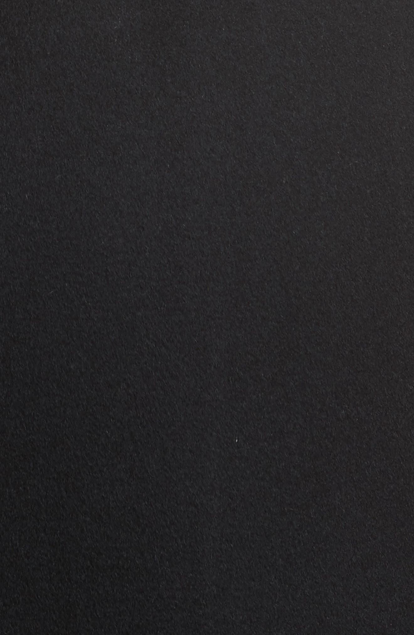 Divya Reversible Vest with Genuine Shearling Trim,                             Alternate thumbnail 7, color,                             001