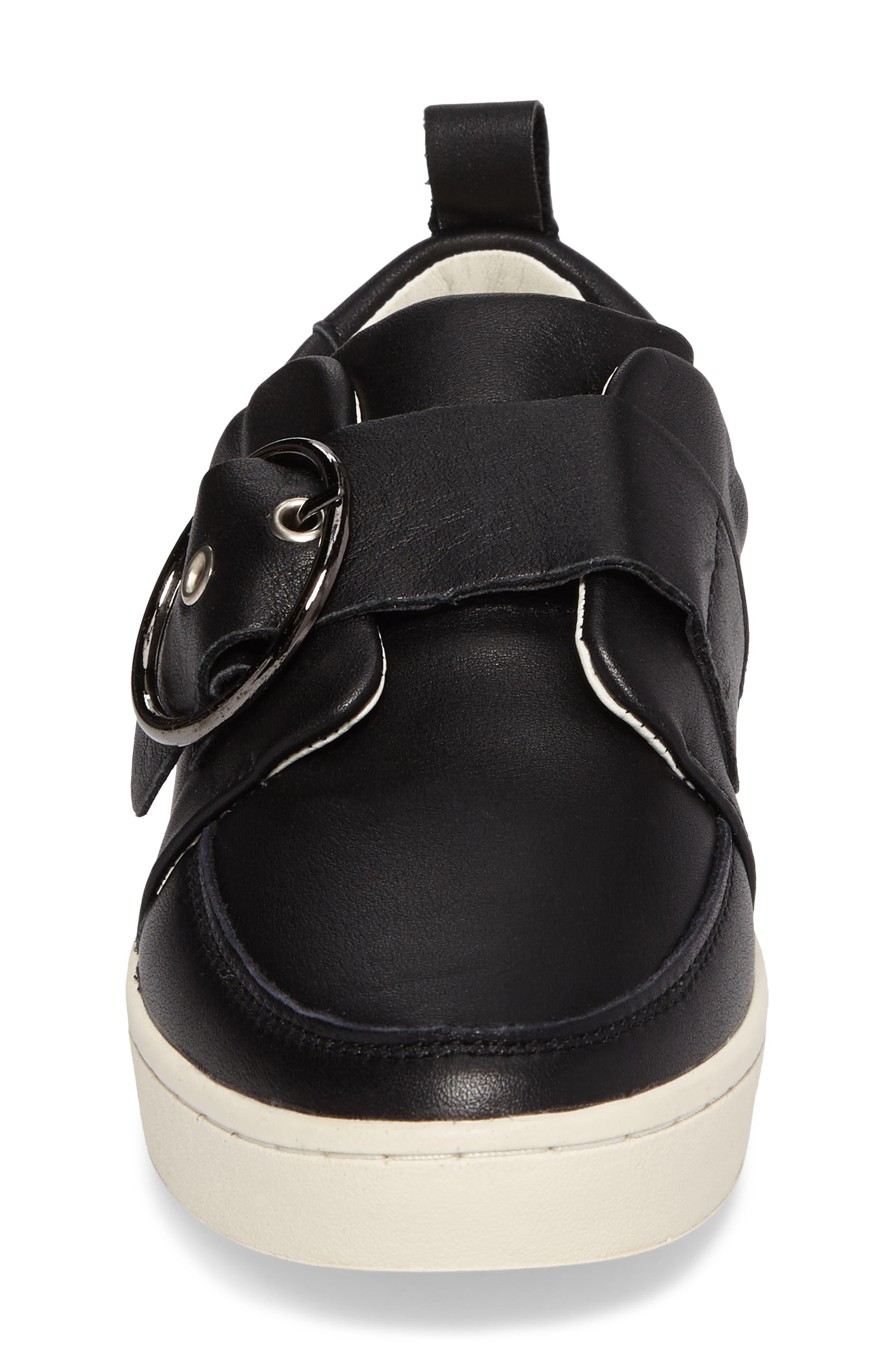 Mice Buckle Sneaker,                             Alternate thumbnail 4, color,