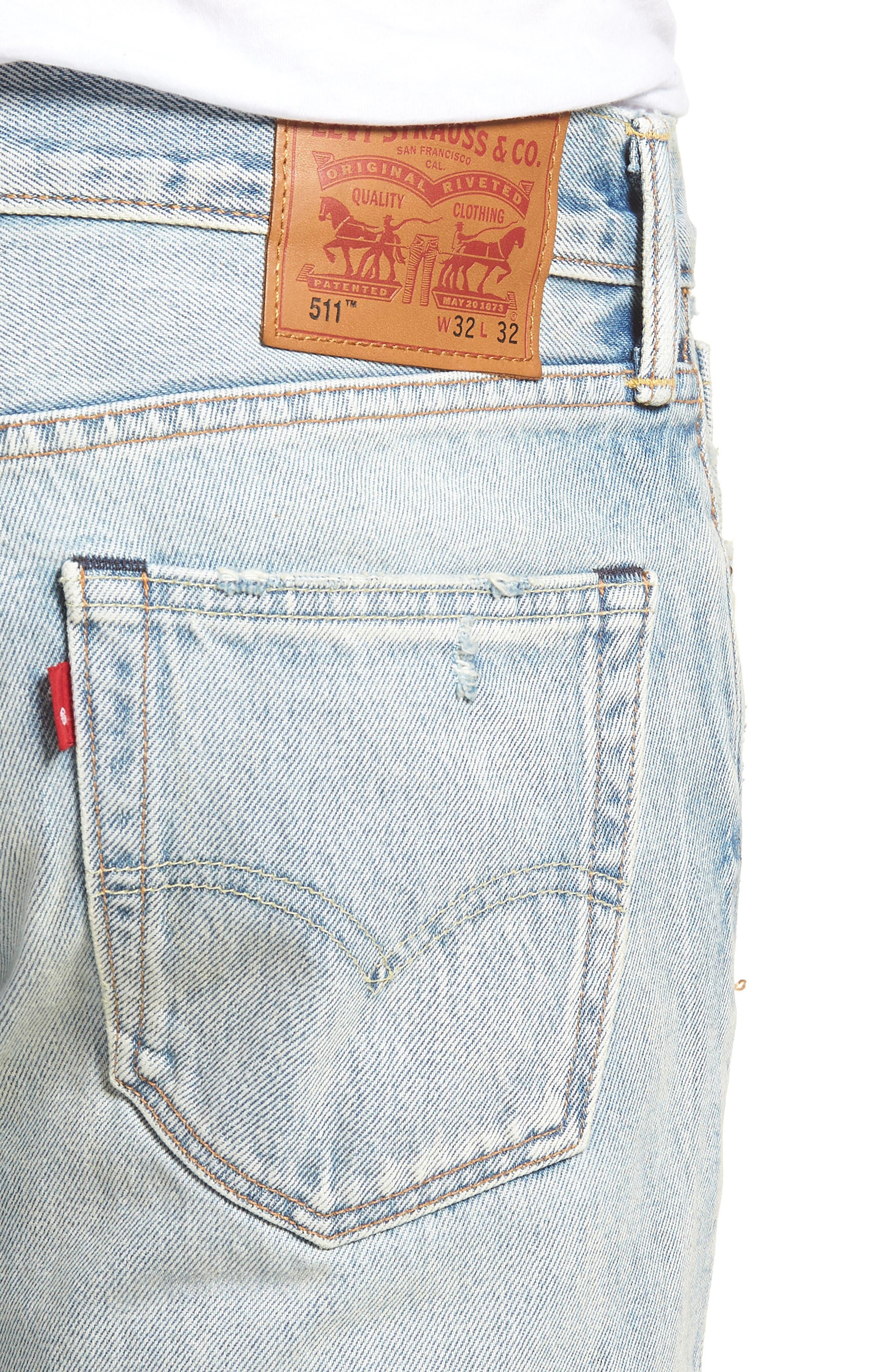 511<sup>™</sup> Slim Fit Jeans,                             Alternate thumbnail 4, color,