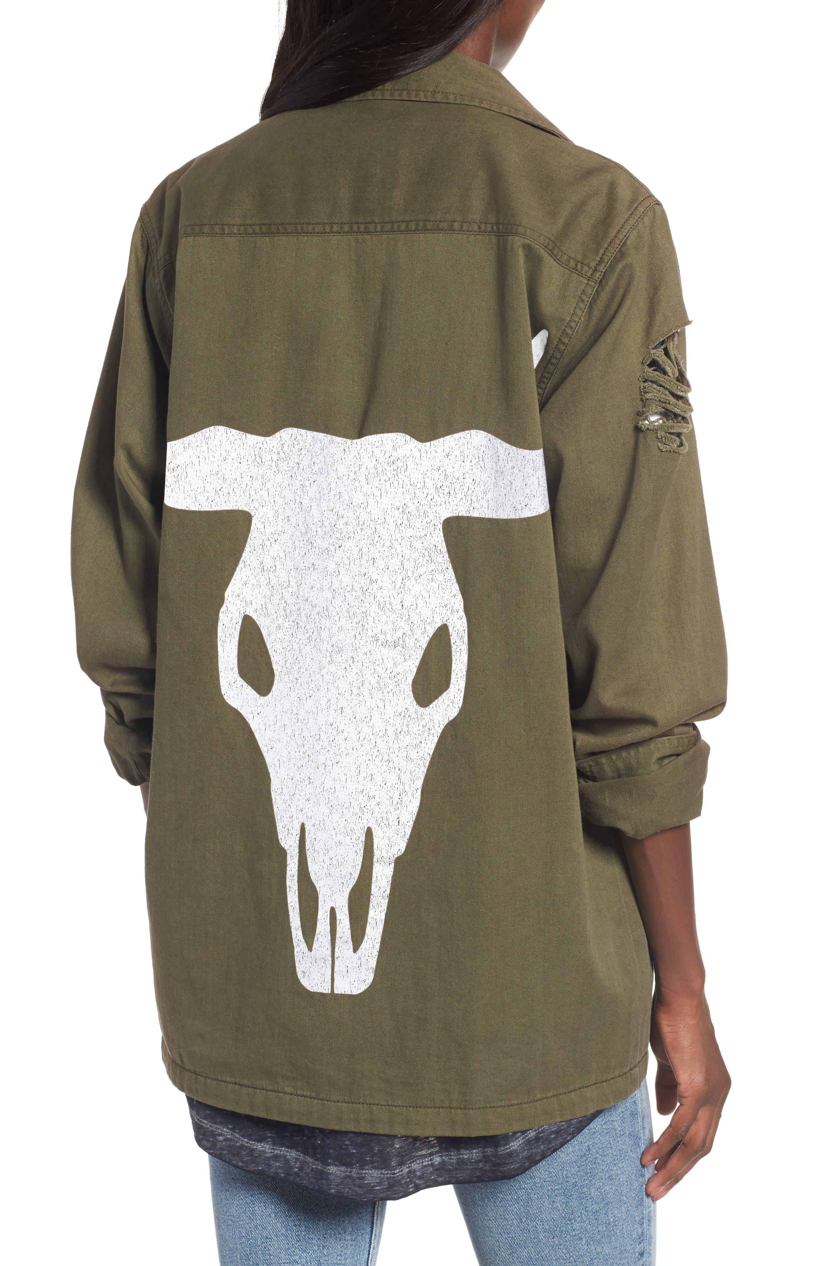 Army Jacket,                             Alternate thumbnail 2, color,                             300