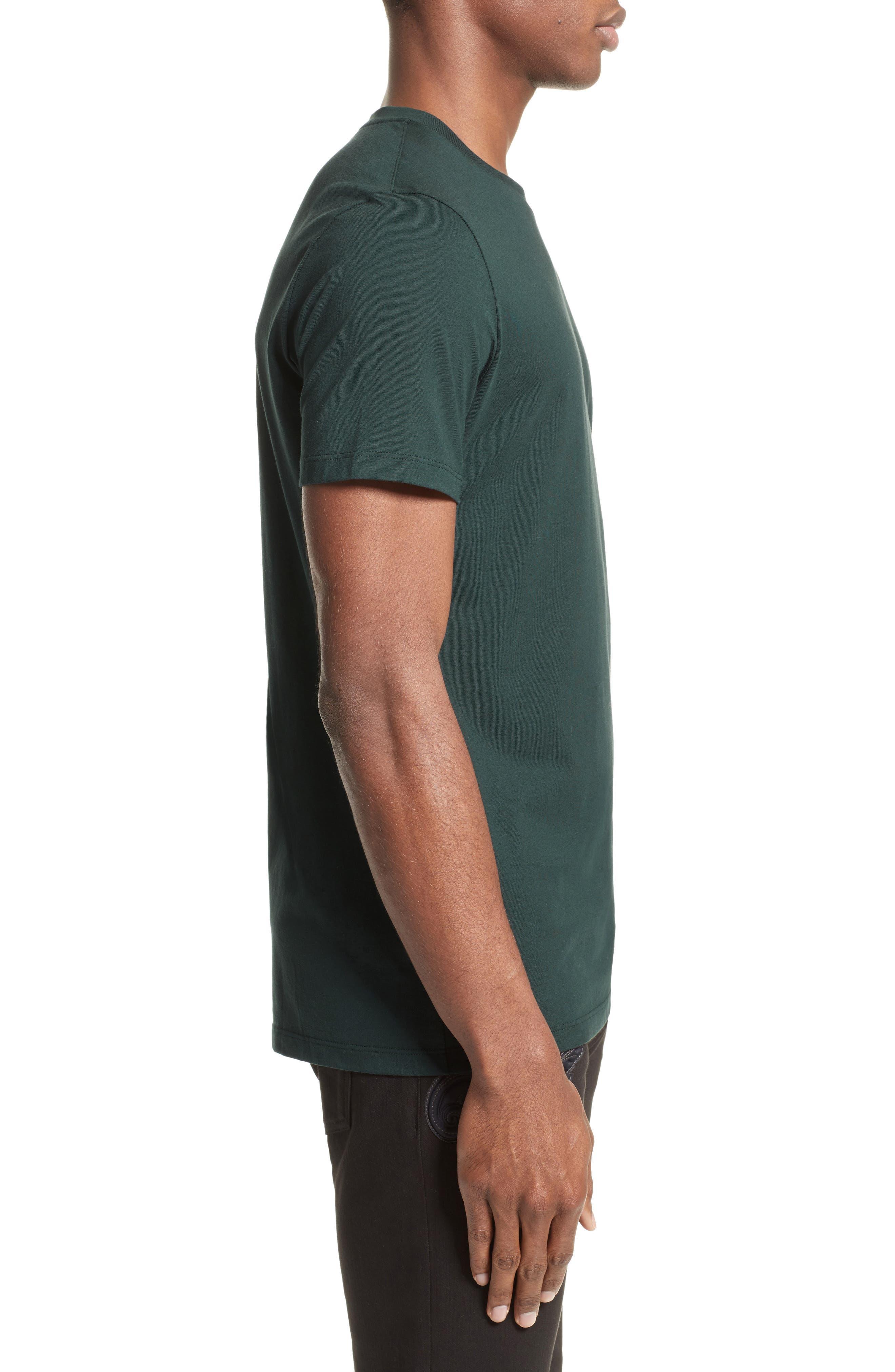 Medusa Foil Back T-Shirt,                             Alternate thumbnail 3, color,                             300