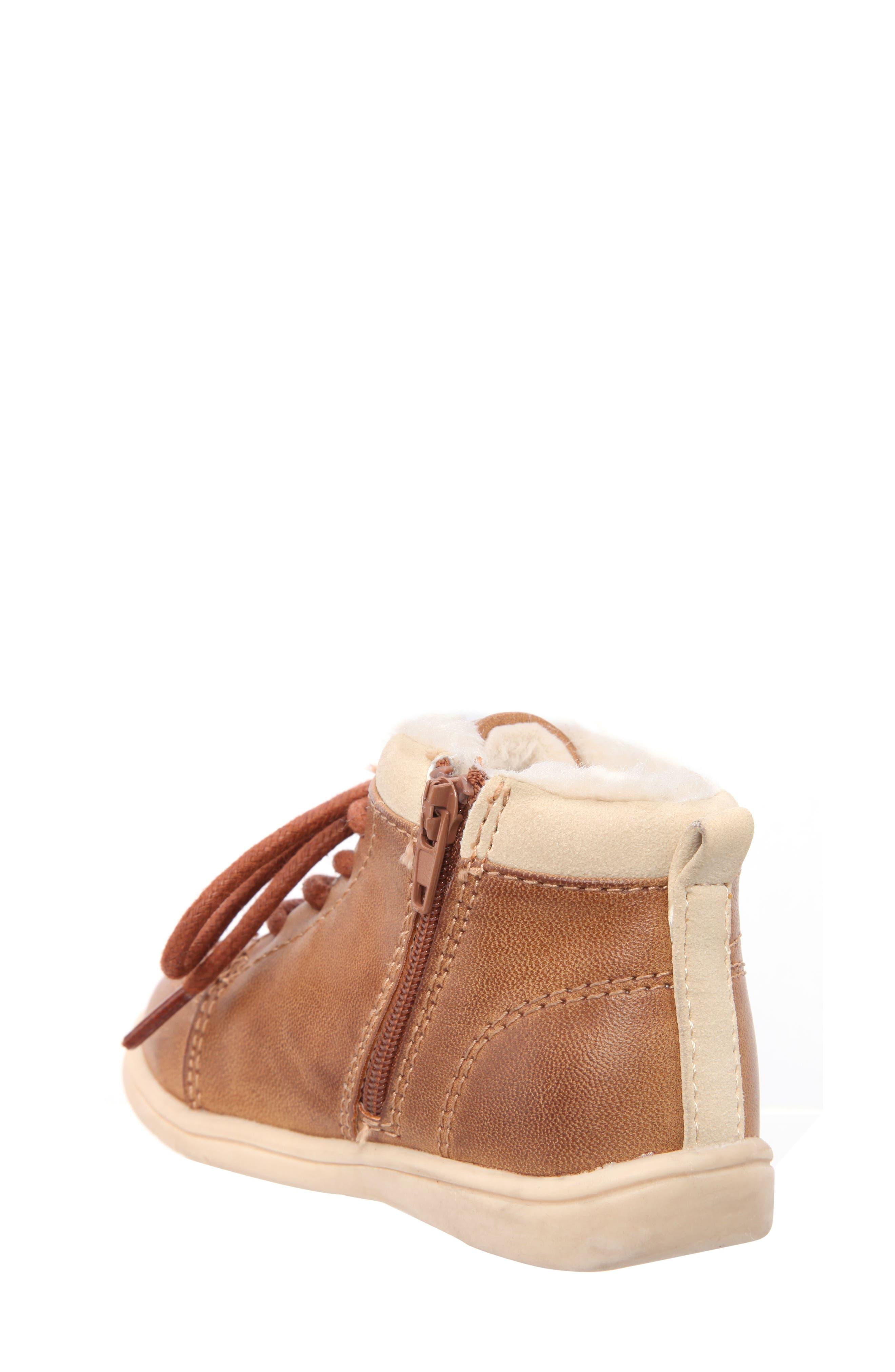 Nina Mobility Moe Sneaker,                             Alternate thumbnail 2, color,                             BROWN BURNISH
