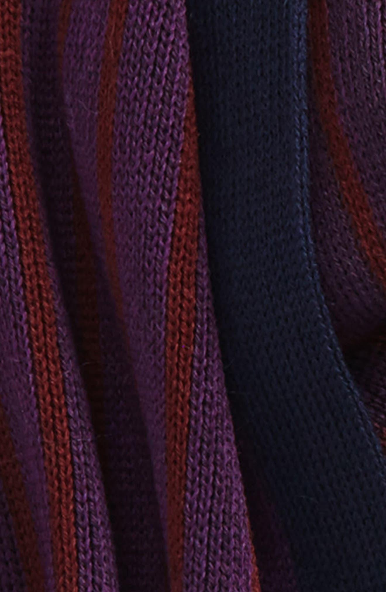 Elmm Stripe Wool Scarf,                             Alternate thumbnail 3, color,                             510