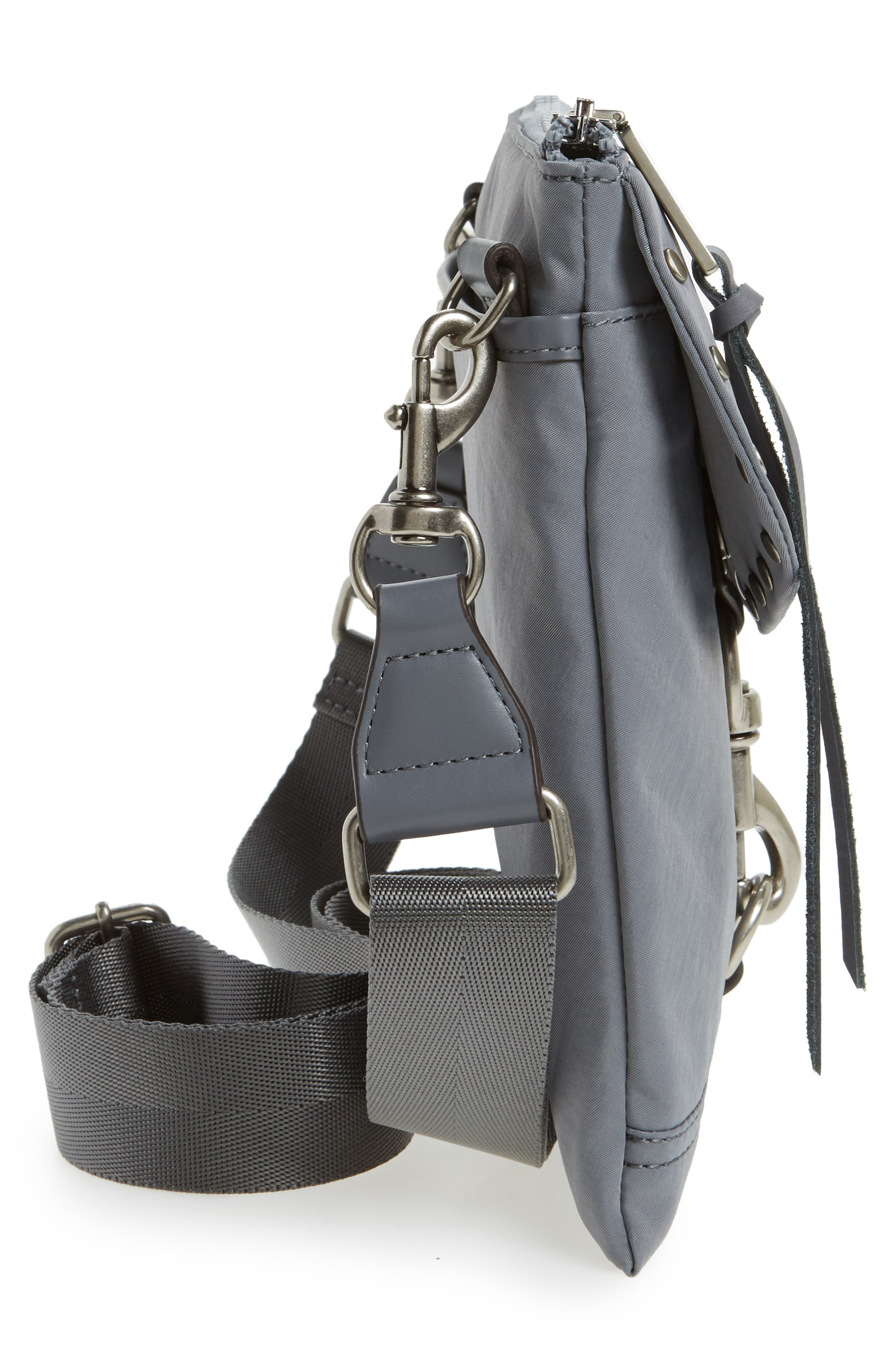 Nylon Flap Crossbody Bag,                             Alternate thumbnail 26, color,