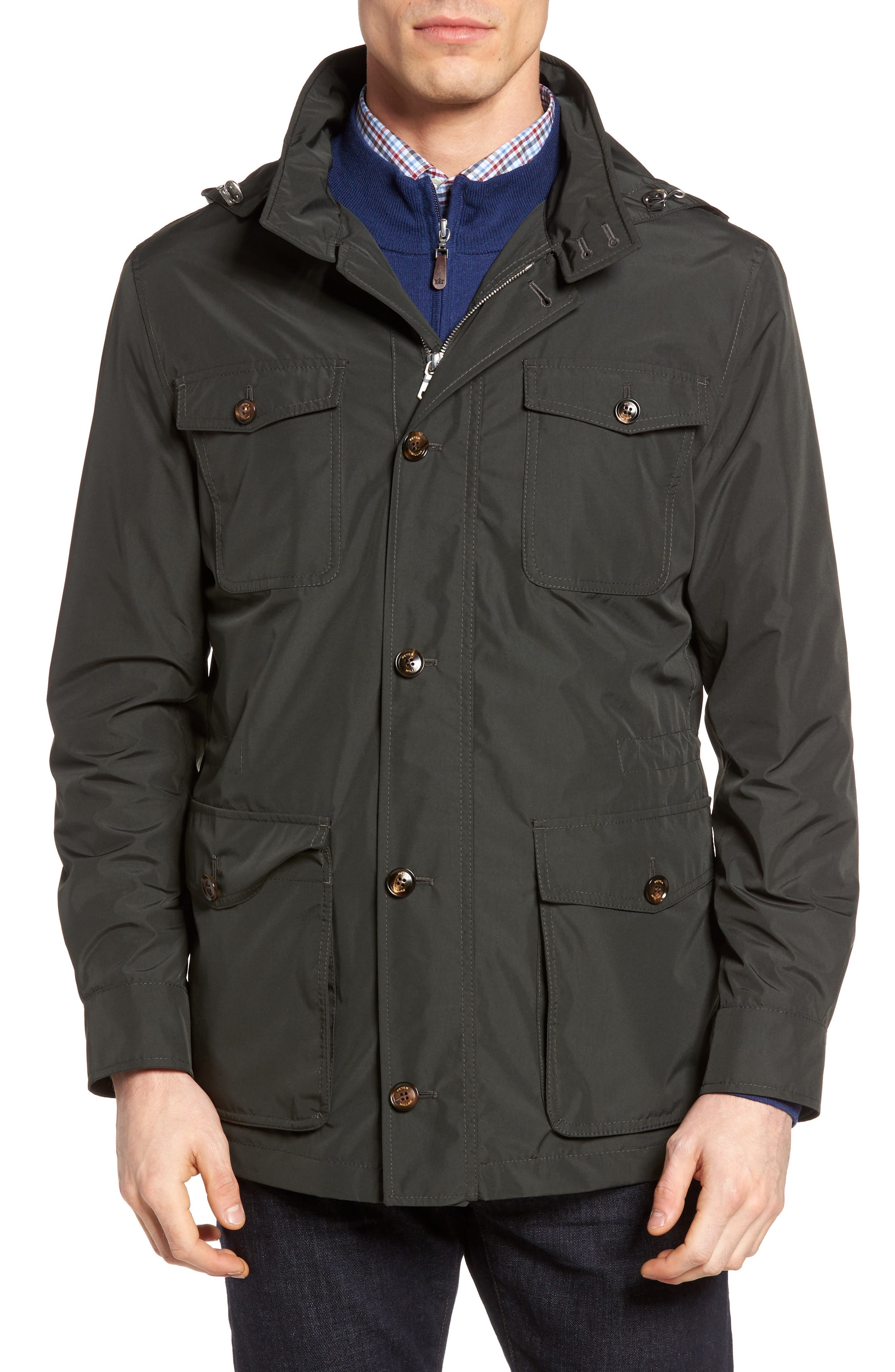 Peter Millar All Weather Discovery Jacket,                         Main,                         color, 359