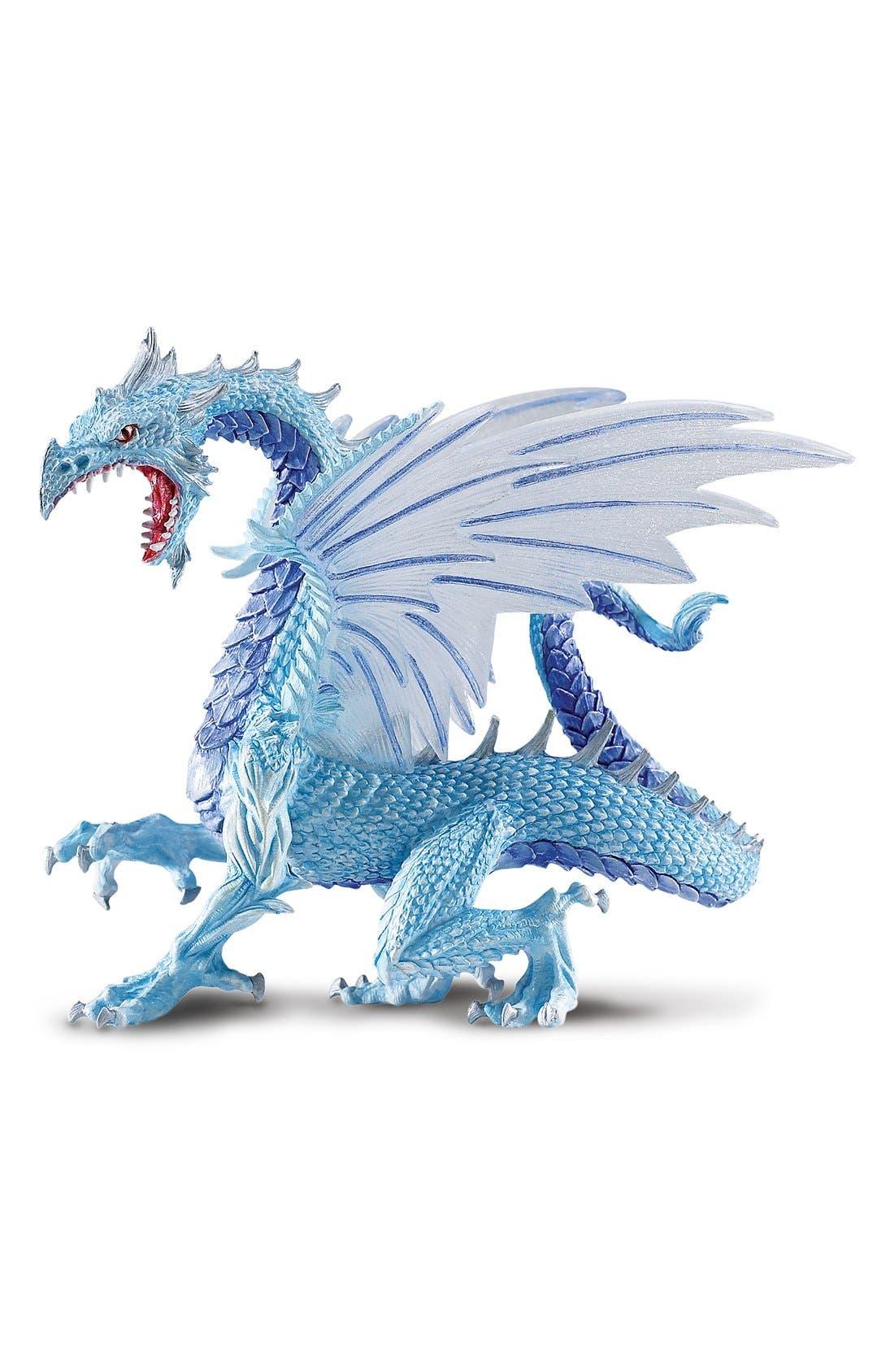 Ice Dragon Figurine,                             Main thumbnail 1, color,                             NO COLOR