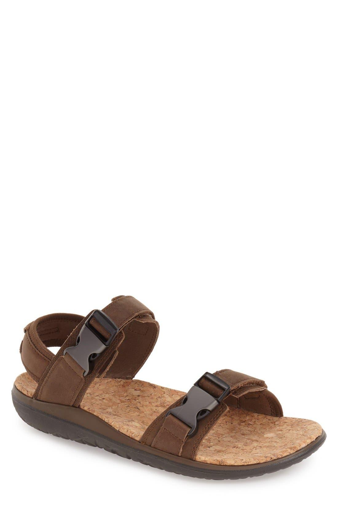 'Terra-Float Universal Lux' Sport Sandal,                         Main,                         color, BROWN
