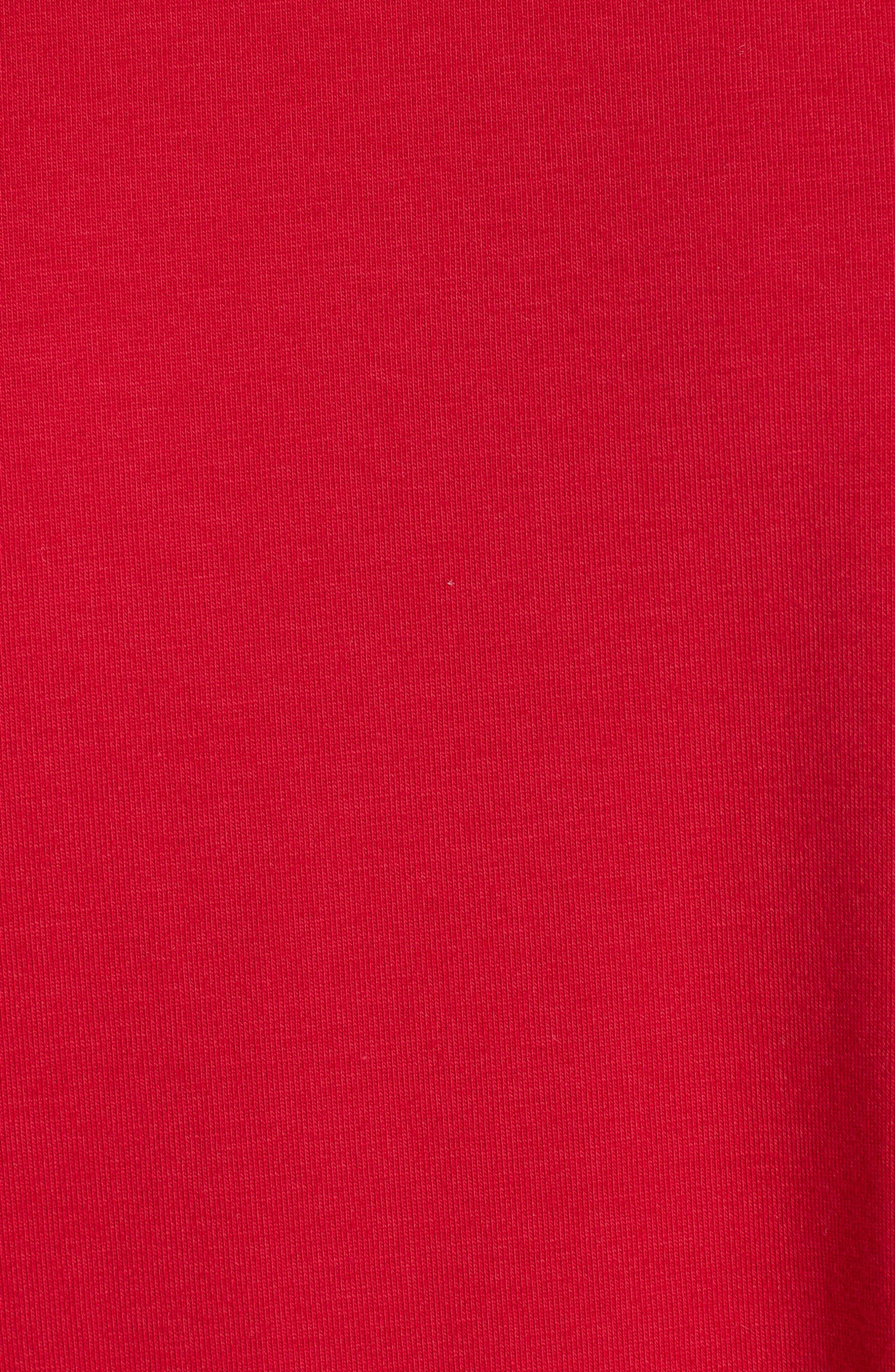 Stretch Organic Cotton Jersey Tunic,                             Alternate thumbnail 28, color,