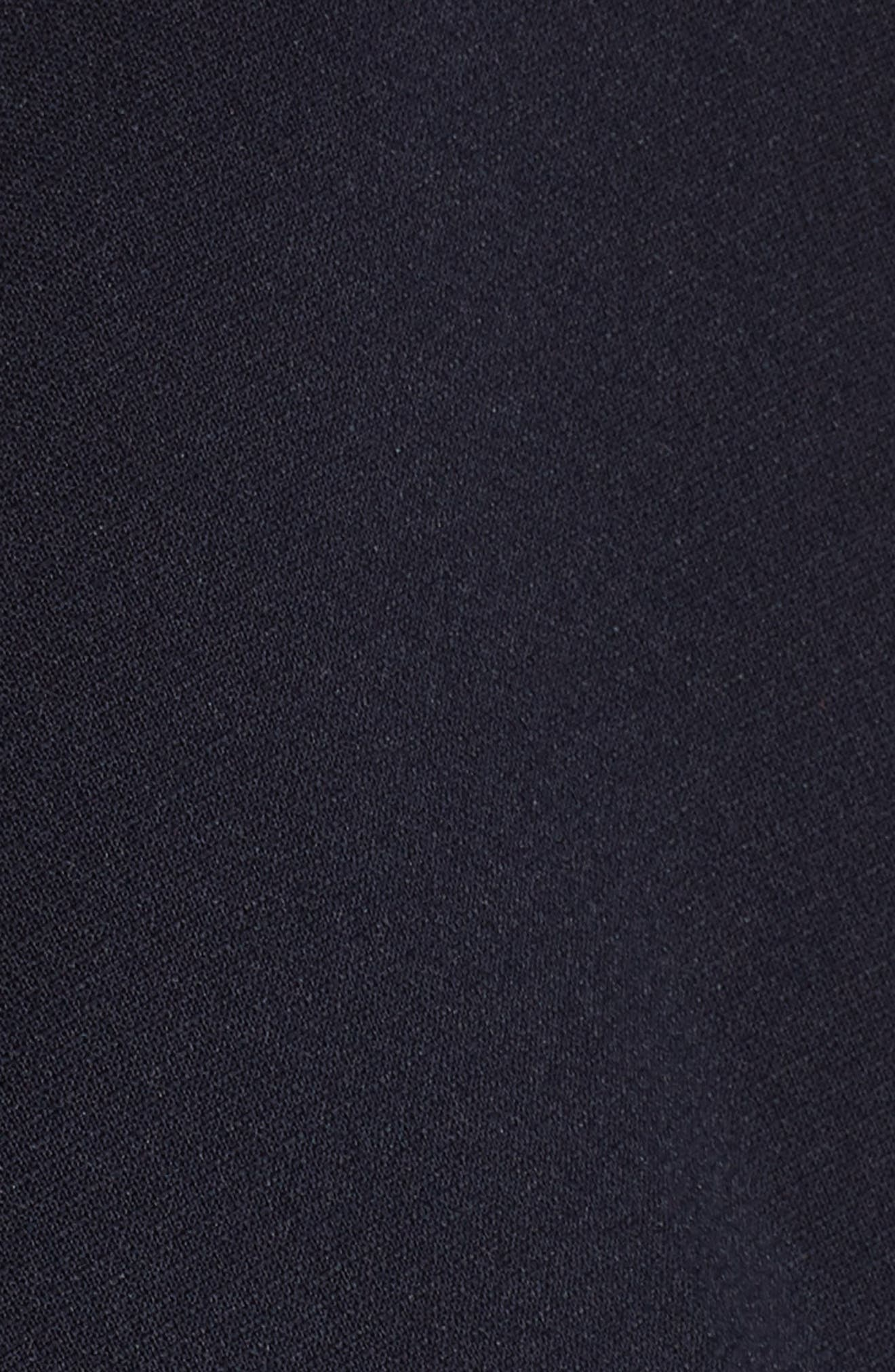 RACHEL GILBERT,                             Farah Peplum Dress,                             Alternate thumbnail 5, color,                             495