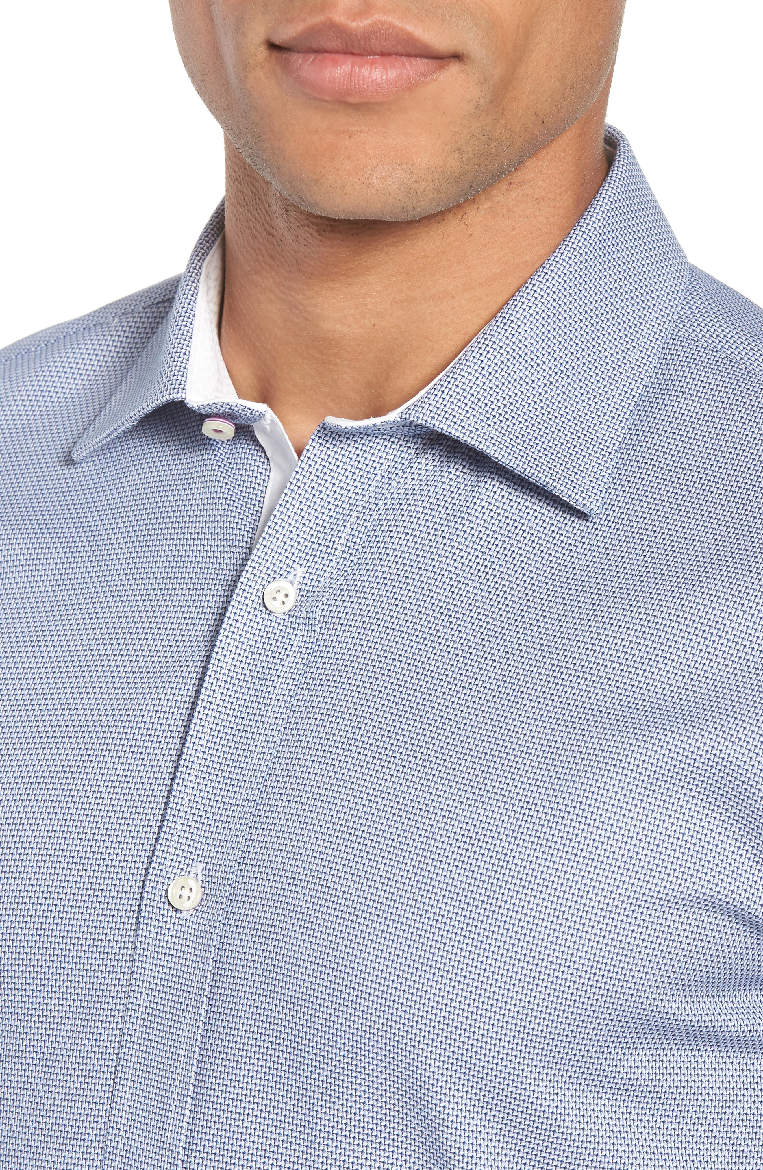 Murgese Trim Fit Geometric Dress Shirt,                             Alternate thumbnail 2, color,                             030