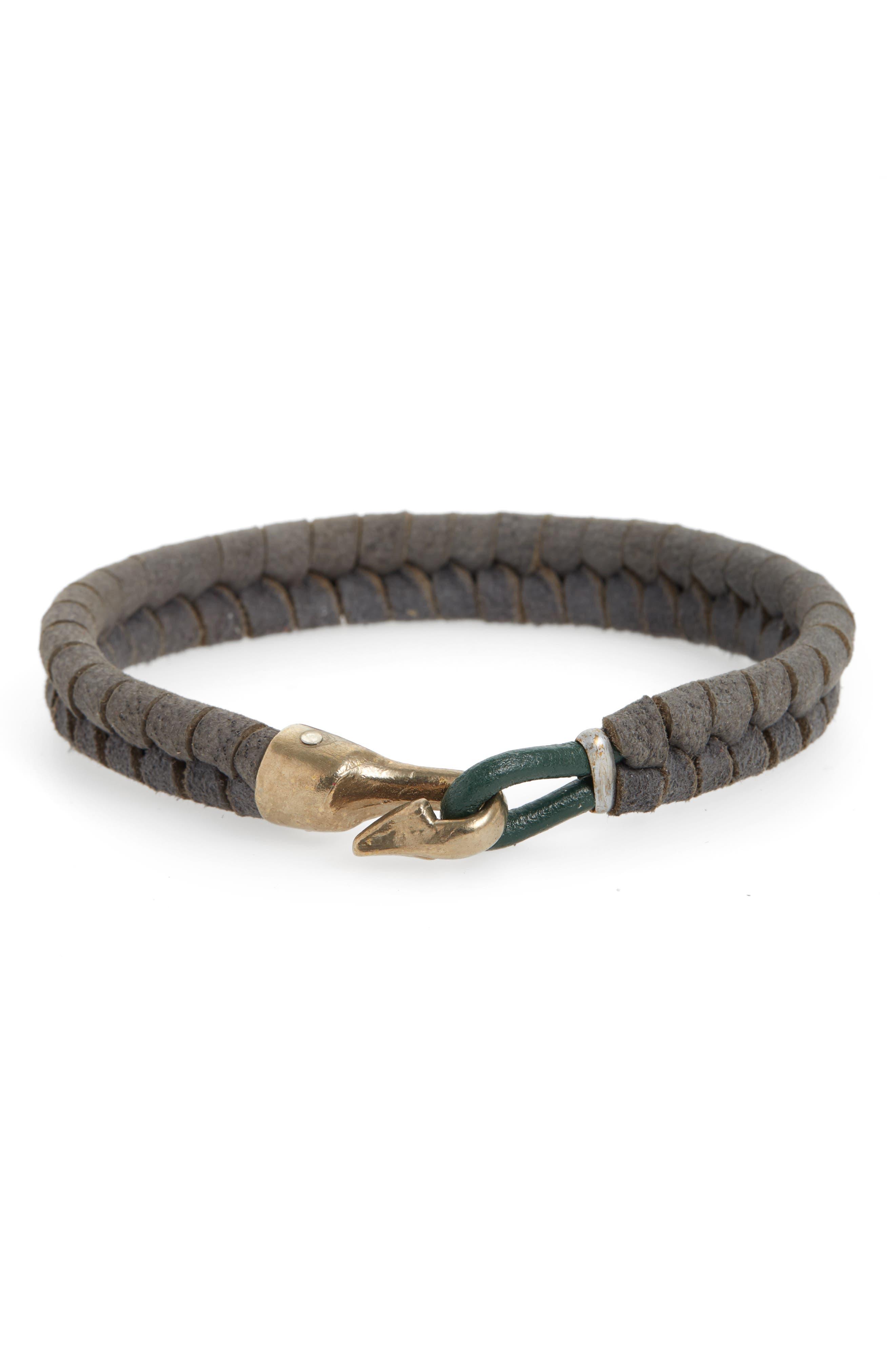 Harpoon Bracelet,                             Main thumbnail 1, color,                             GREY
