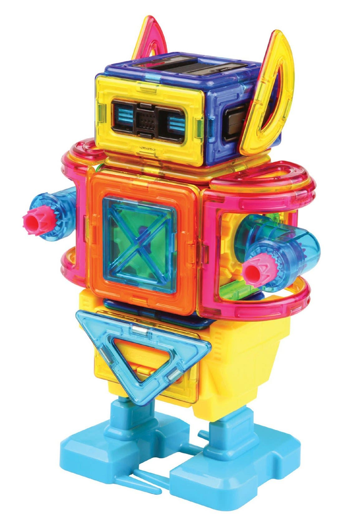 MAGFORMERS,                             'Walking Robot' Magnetic Wind-Up Construction Kit,                             Alternate thumbnail 2, color,                             960