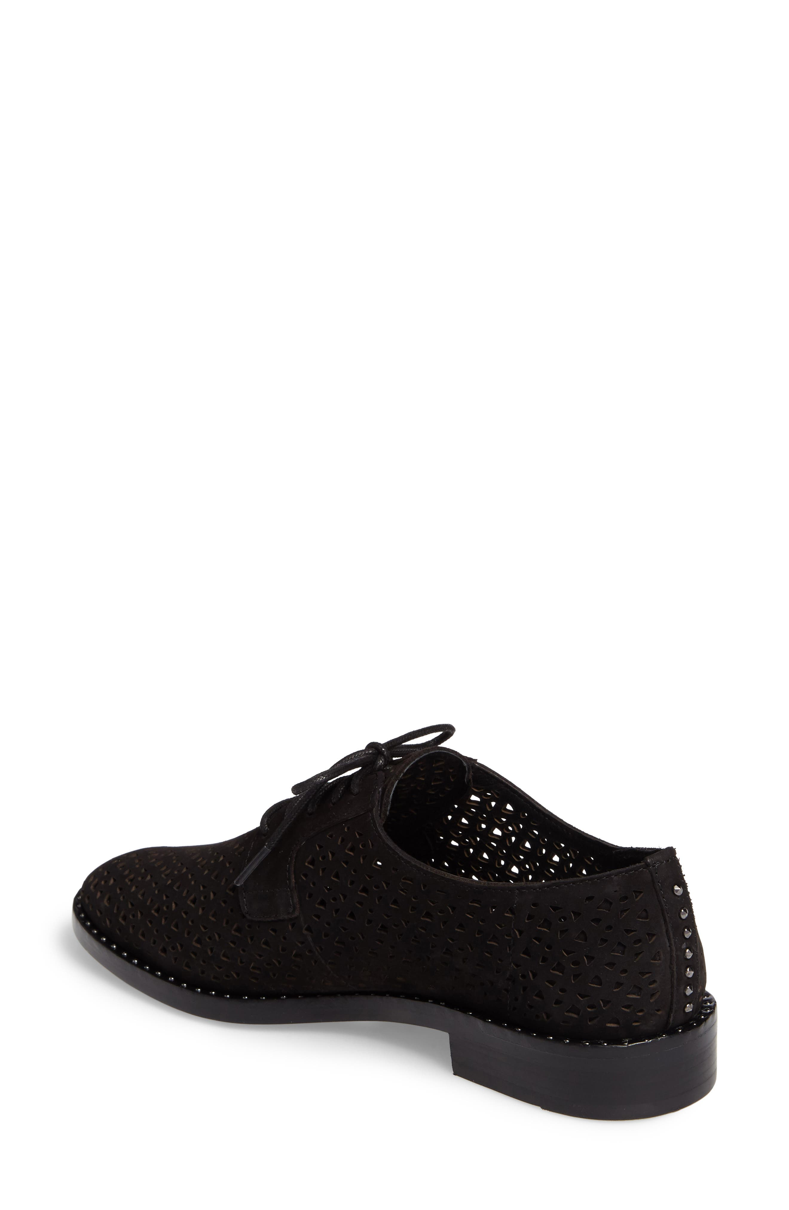 Lesta Geo Perforated Oxford,                             Alternate thumbnail 2, color,                             001