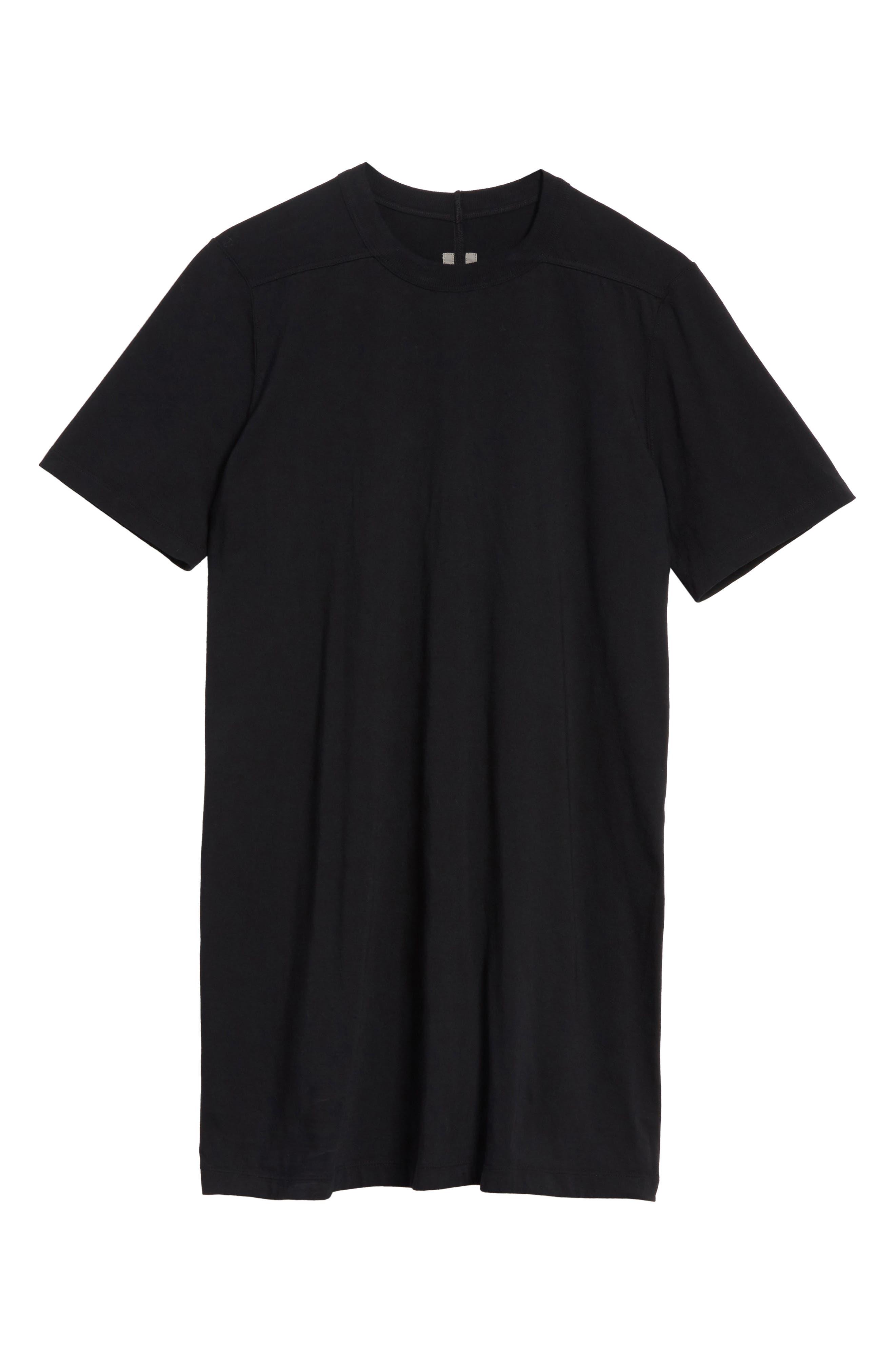 Elongated T-Shirt,                             Alternate thumbnail 6, color,                             009