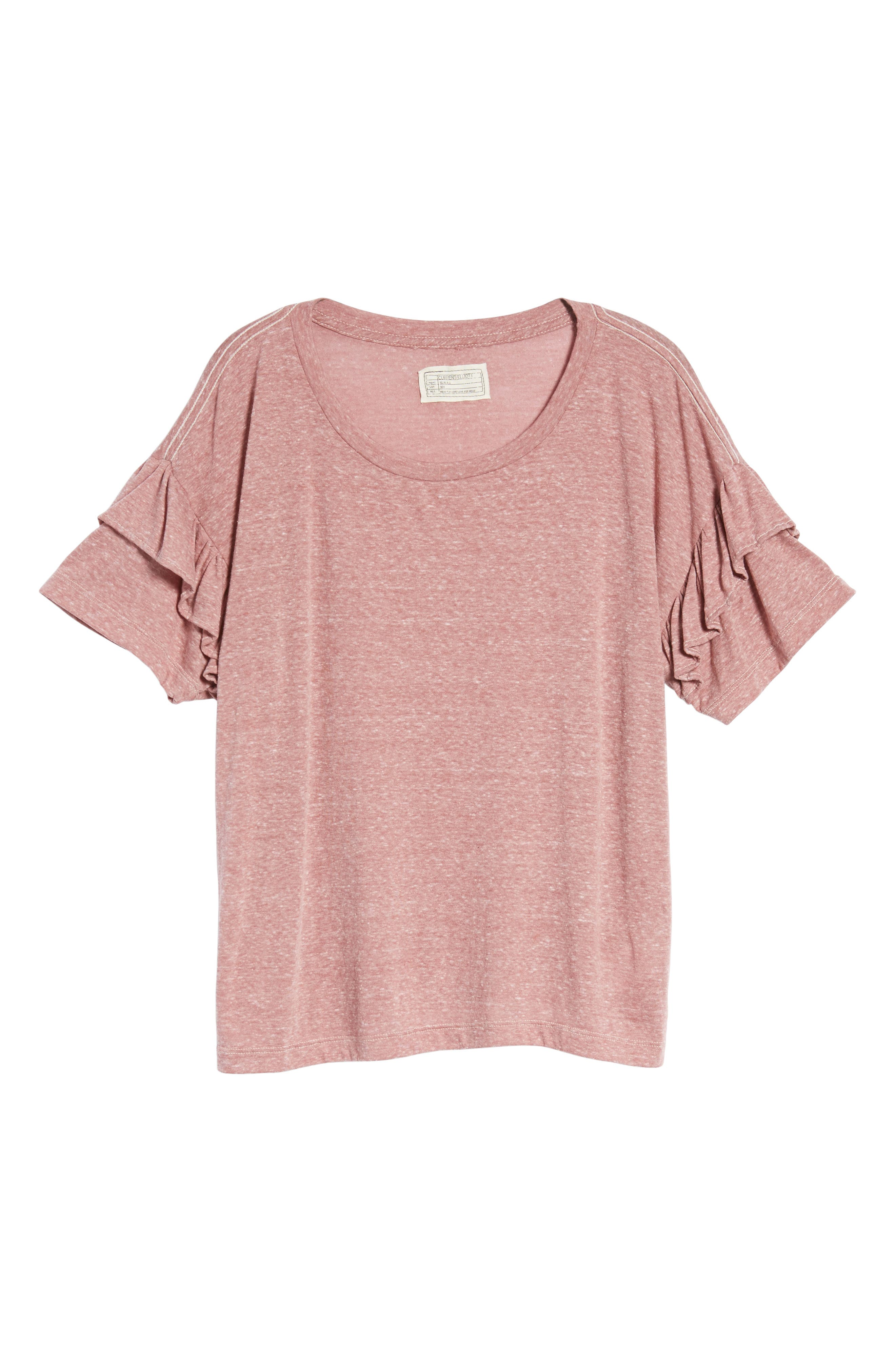 The Ruffle Roadie Tee,                             Alternate thumbnail 6, color,                             683