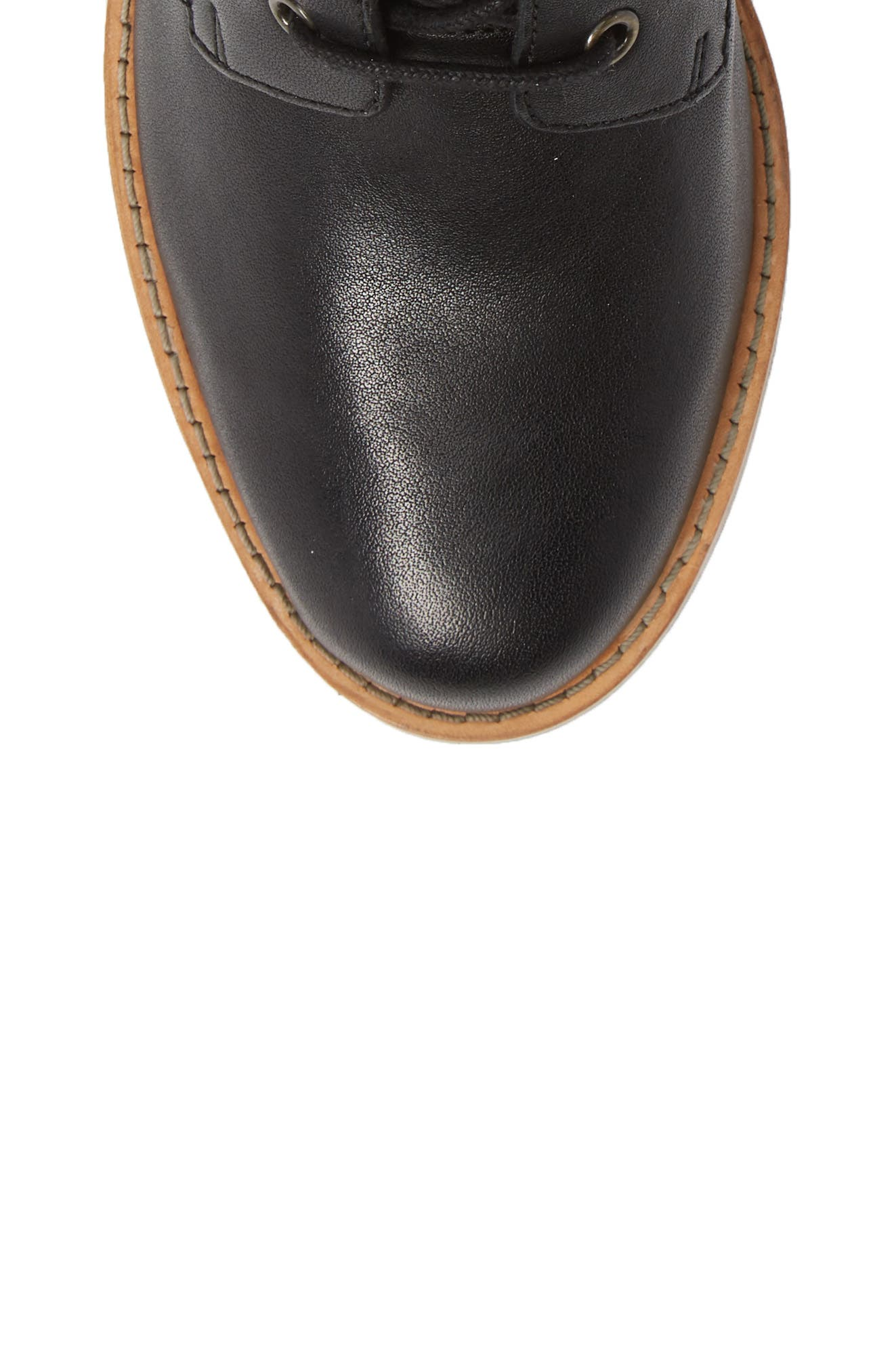 Clarkdale Tone Boot,                             Alternate thumbnail 5, color,                             BLACK LEATHER
