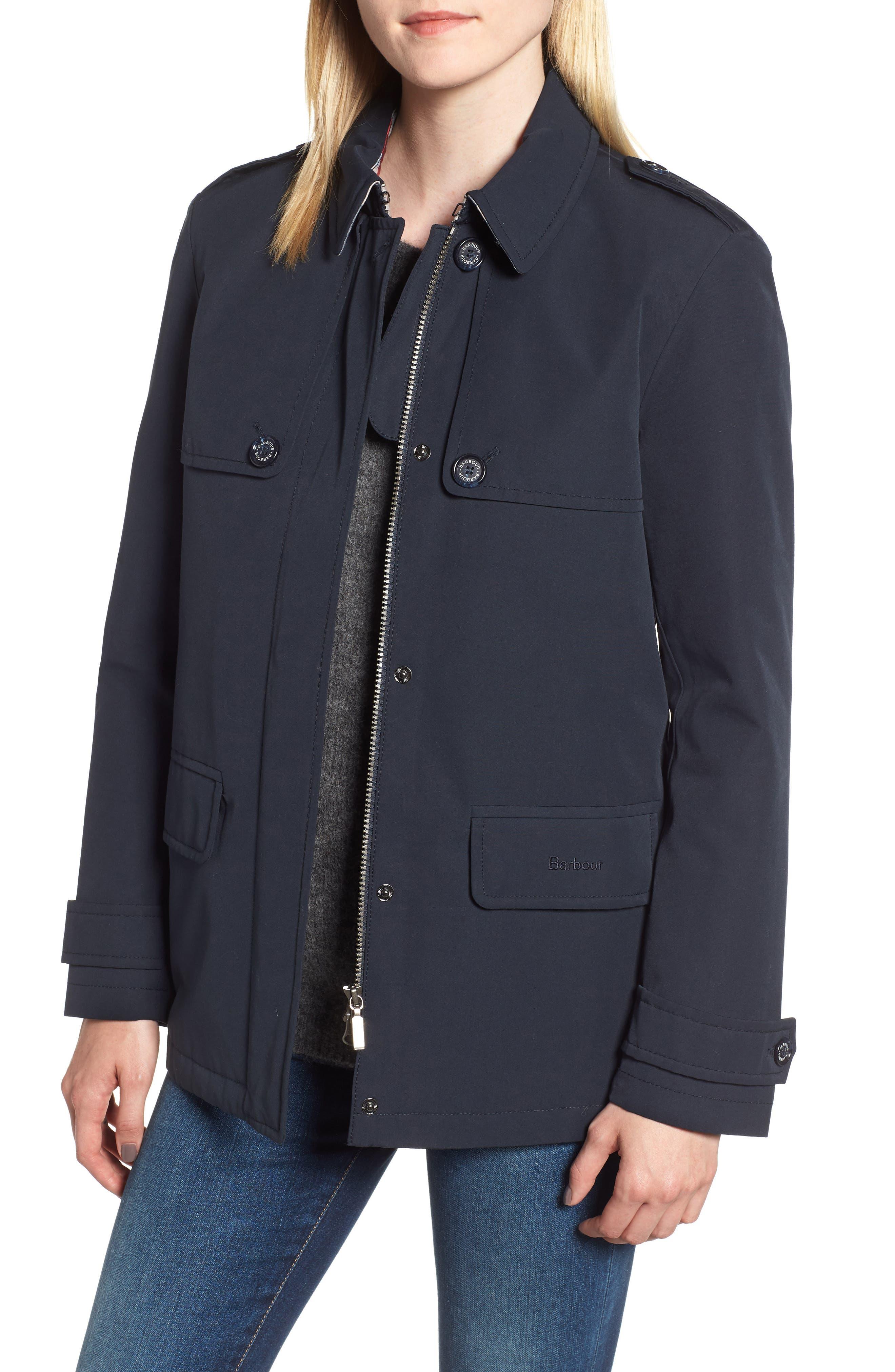 Barbour Rothesay Waterproof Jacket, US / 10 UK - Blue