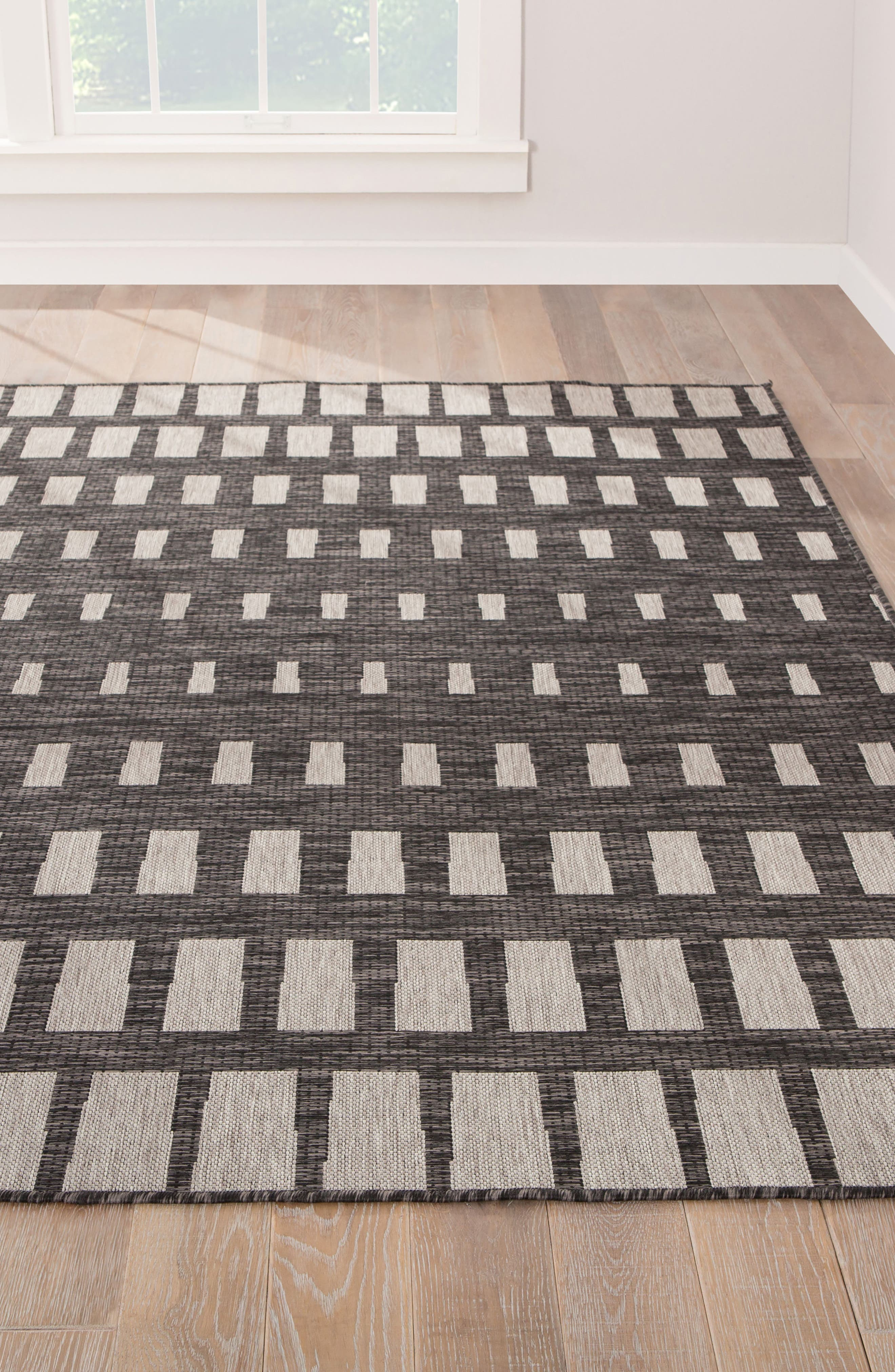 Vaise Indoor/Outdoor Rug,                             Alternate thumbnail 2, color,                             PEWTER
