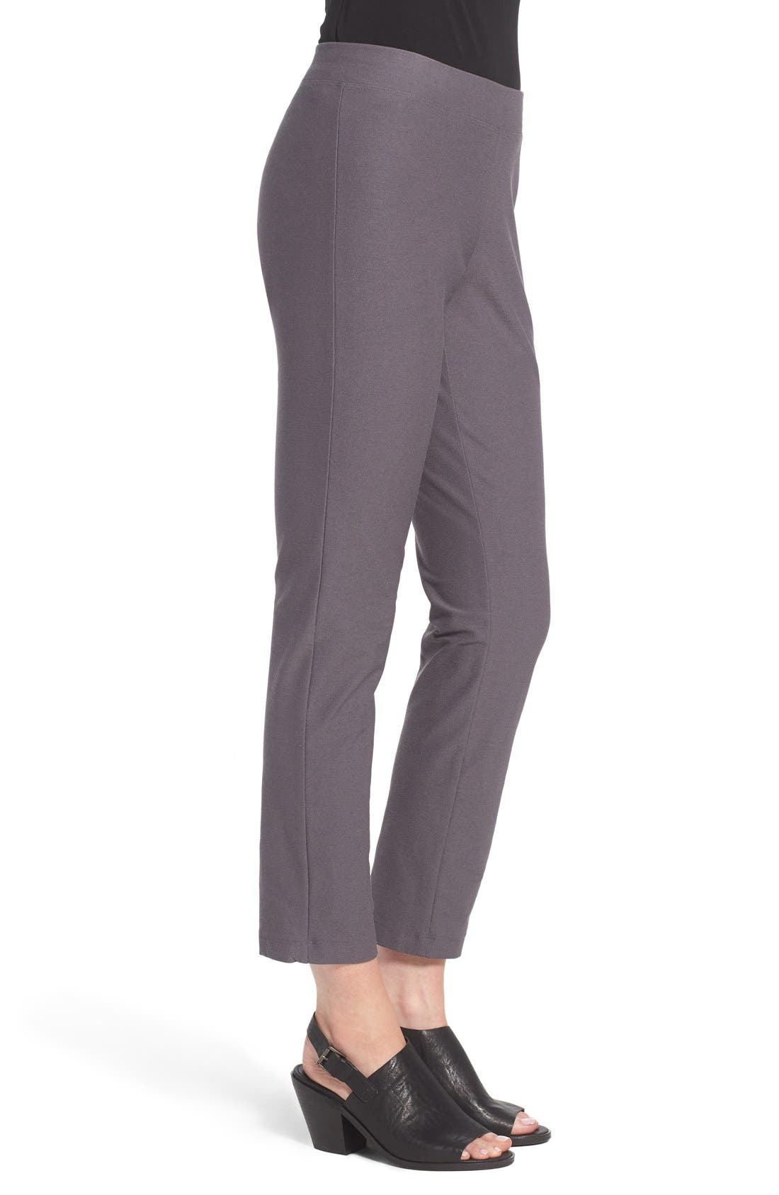 Stretch Crepe Slim Ankle Pants,                             Alternate thumbnail 61, color,