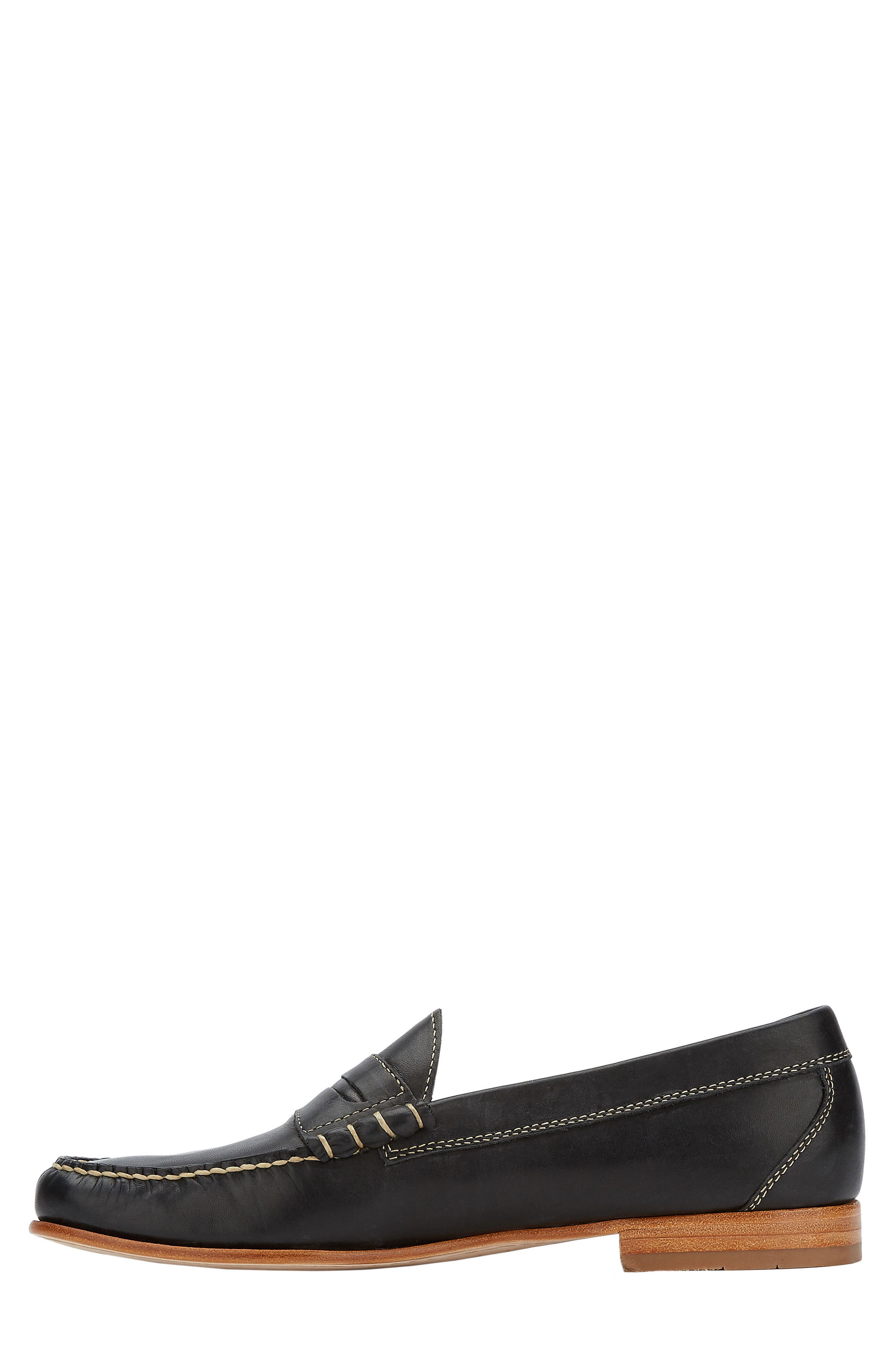 Weejuns Lambert Penny Loafer,                             Alternate thumbnail 3, color,                             001