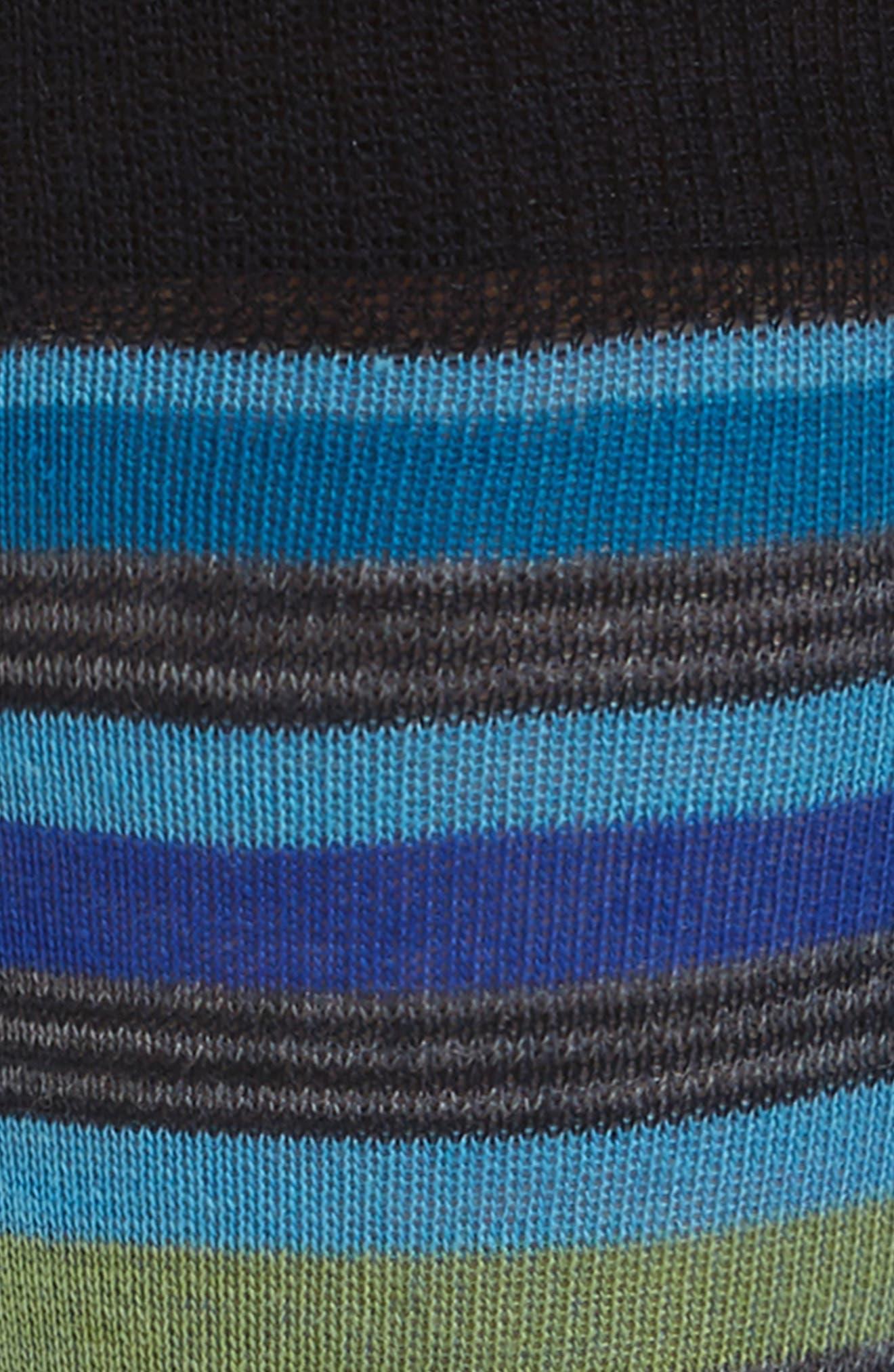 Stripe Crew Socks,                             Alternate thumbnail 2, color,                             410