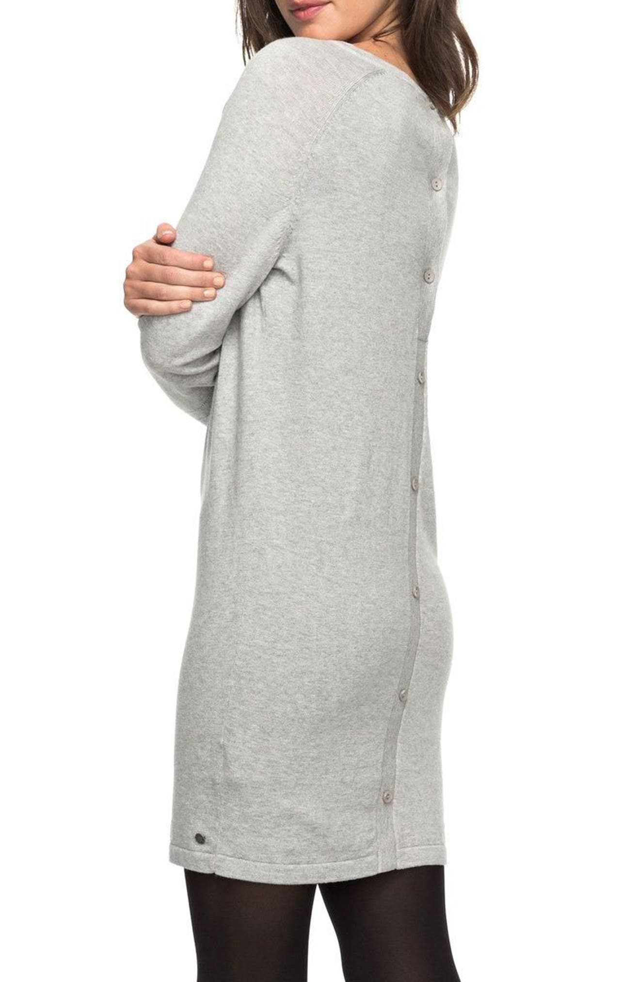 Winter Story Sweater Dress,                             Alternate thumbnail 3, color,                             037