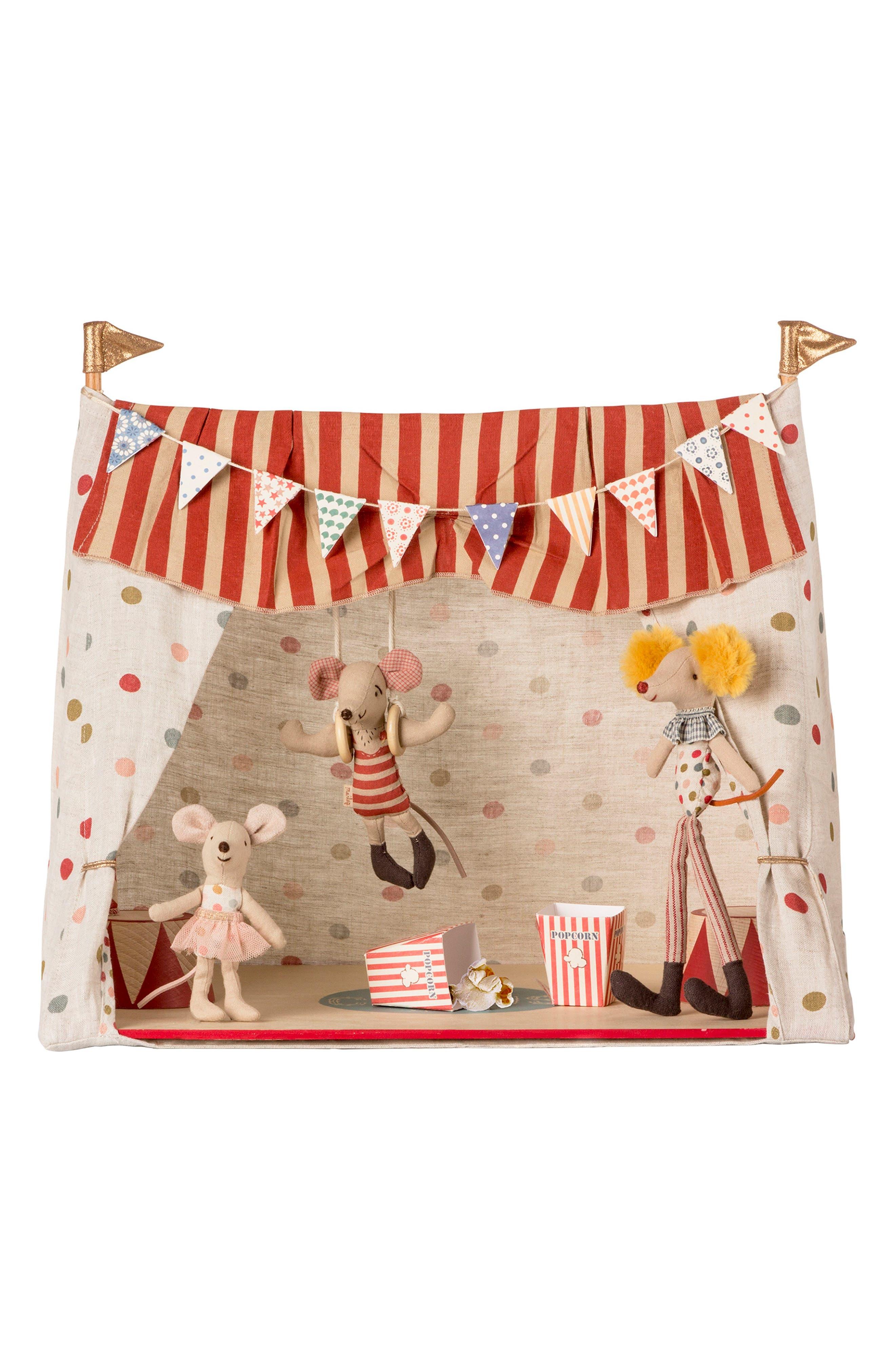 Toddler Maileg Circus Mice Play Set