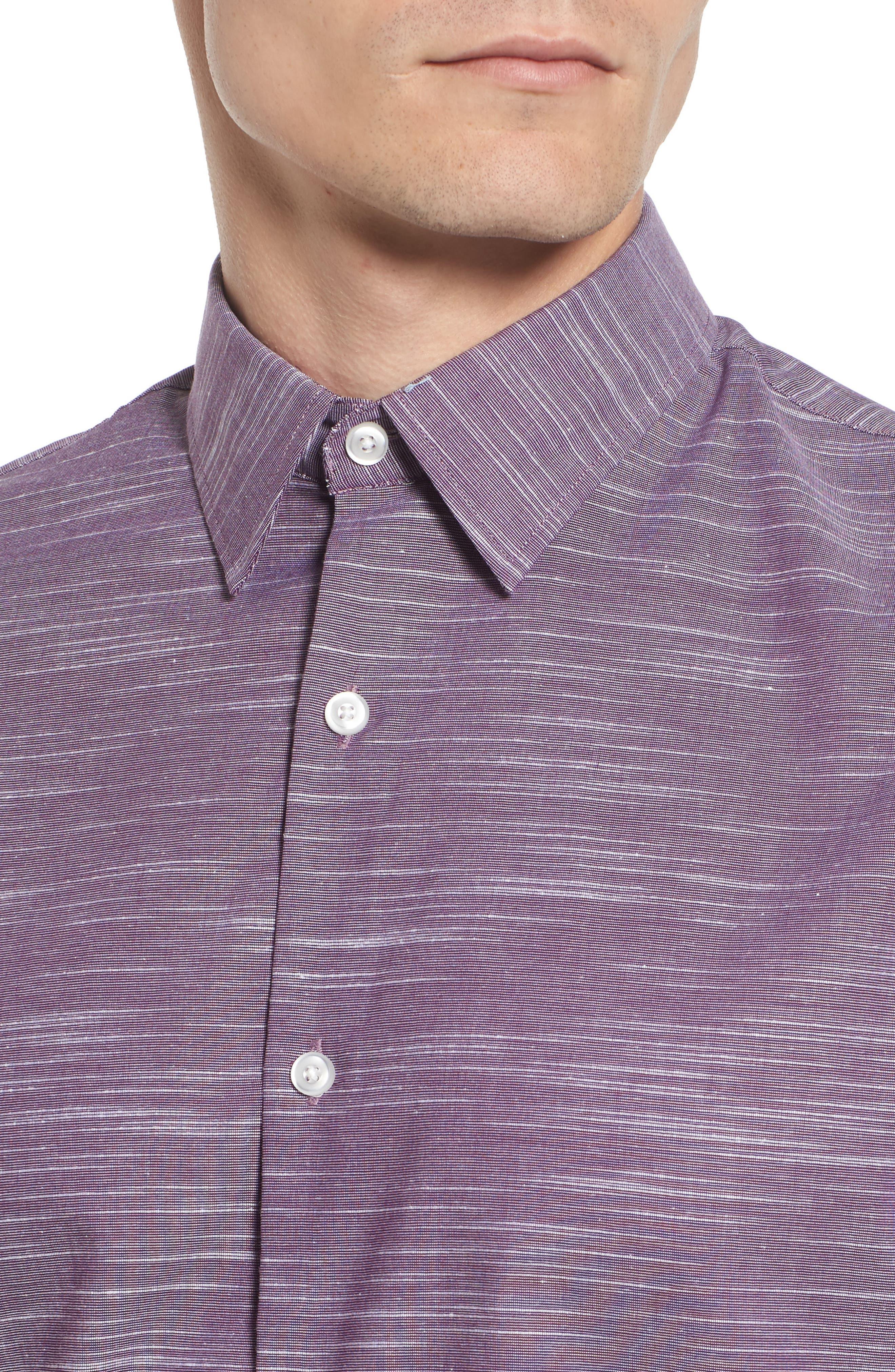 Calilbrate Slim Fit Slub Woven Shirt,                             Alternate thumbnail 12, color,