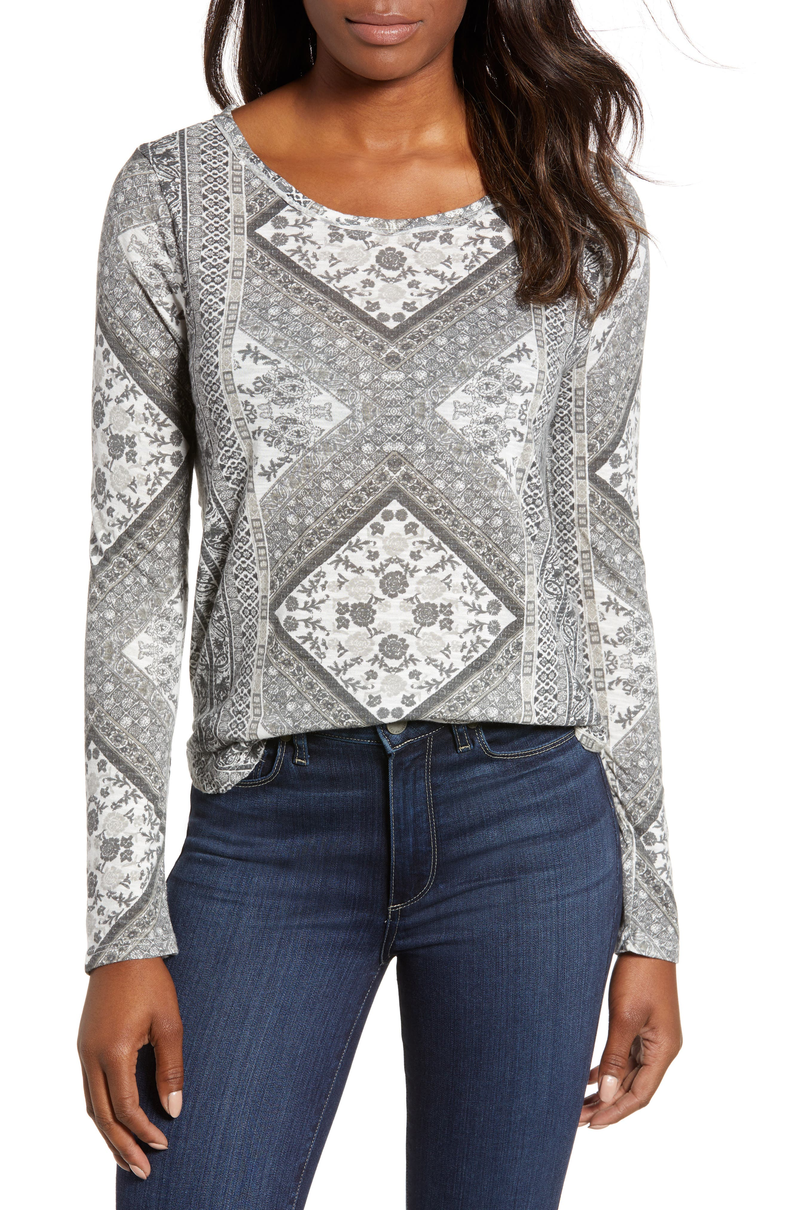 Tapestry Blouse,                         Main,                         color, 020