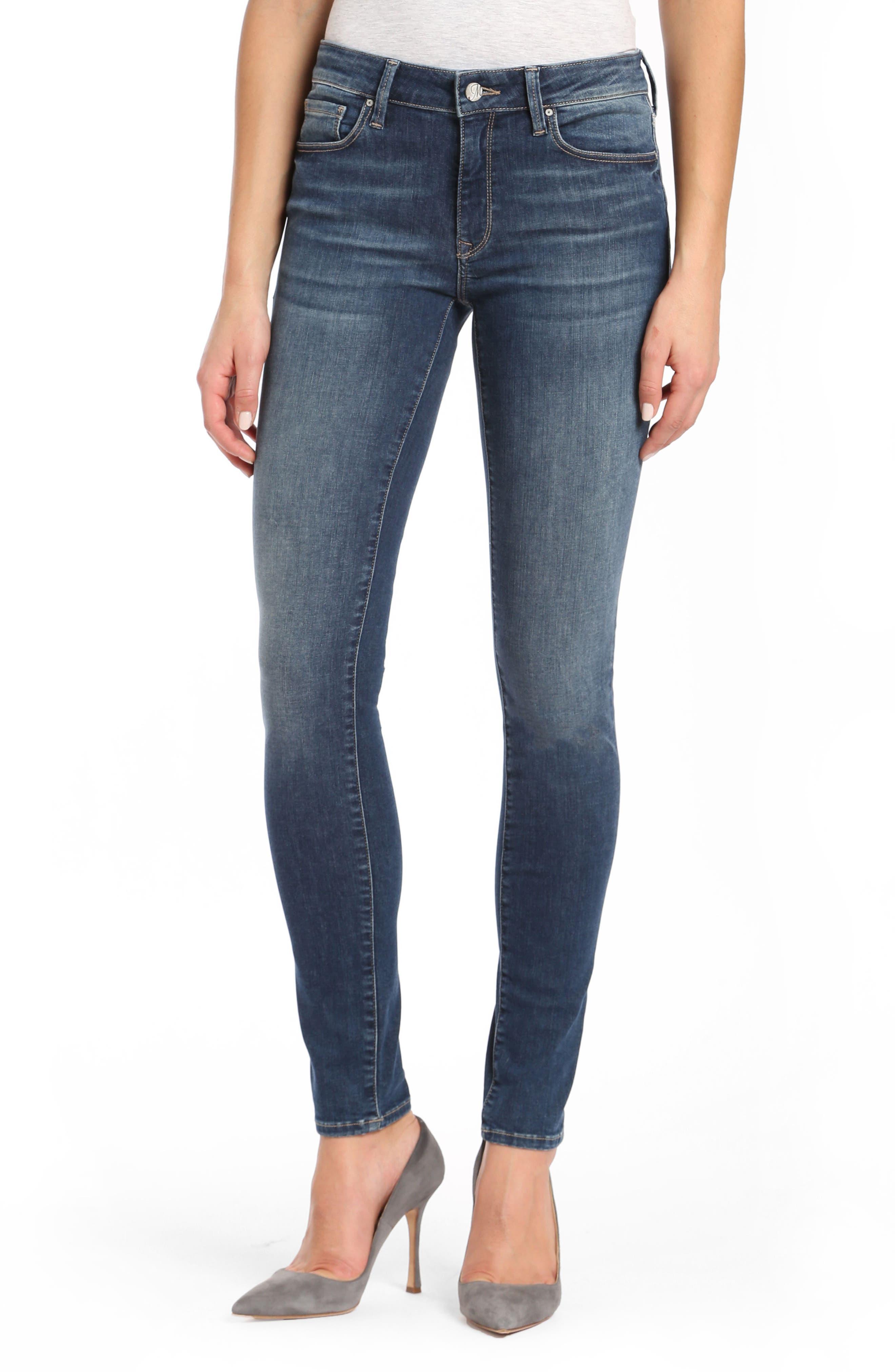 Mavi Adriana Skinny Jeans,                         Main,                         color, 420